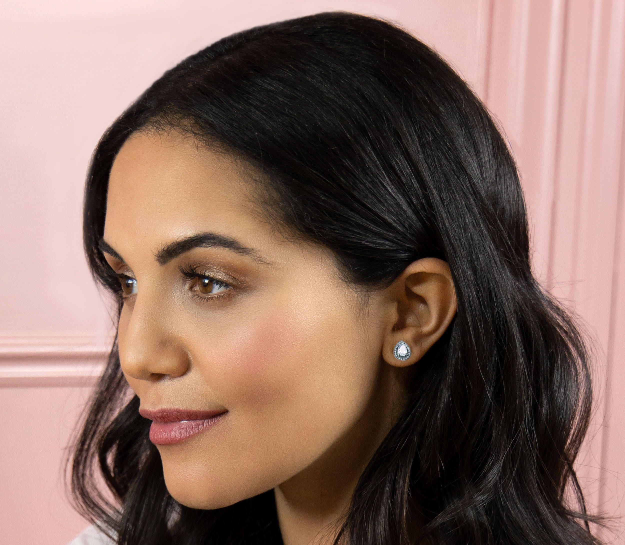 Buckley London Pear Cut Stud Earrings