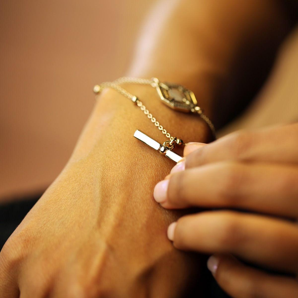 Aria T Bar Bracelet
