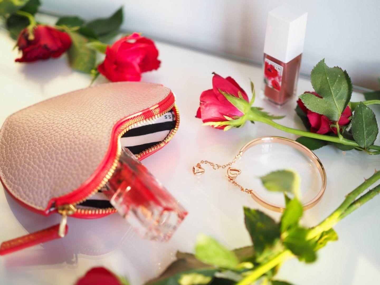 Buckley London Heart Bangle - Rose Gold
