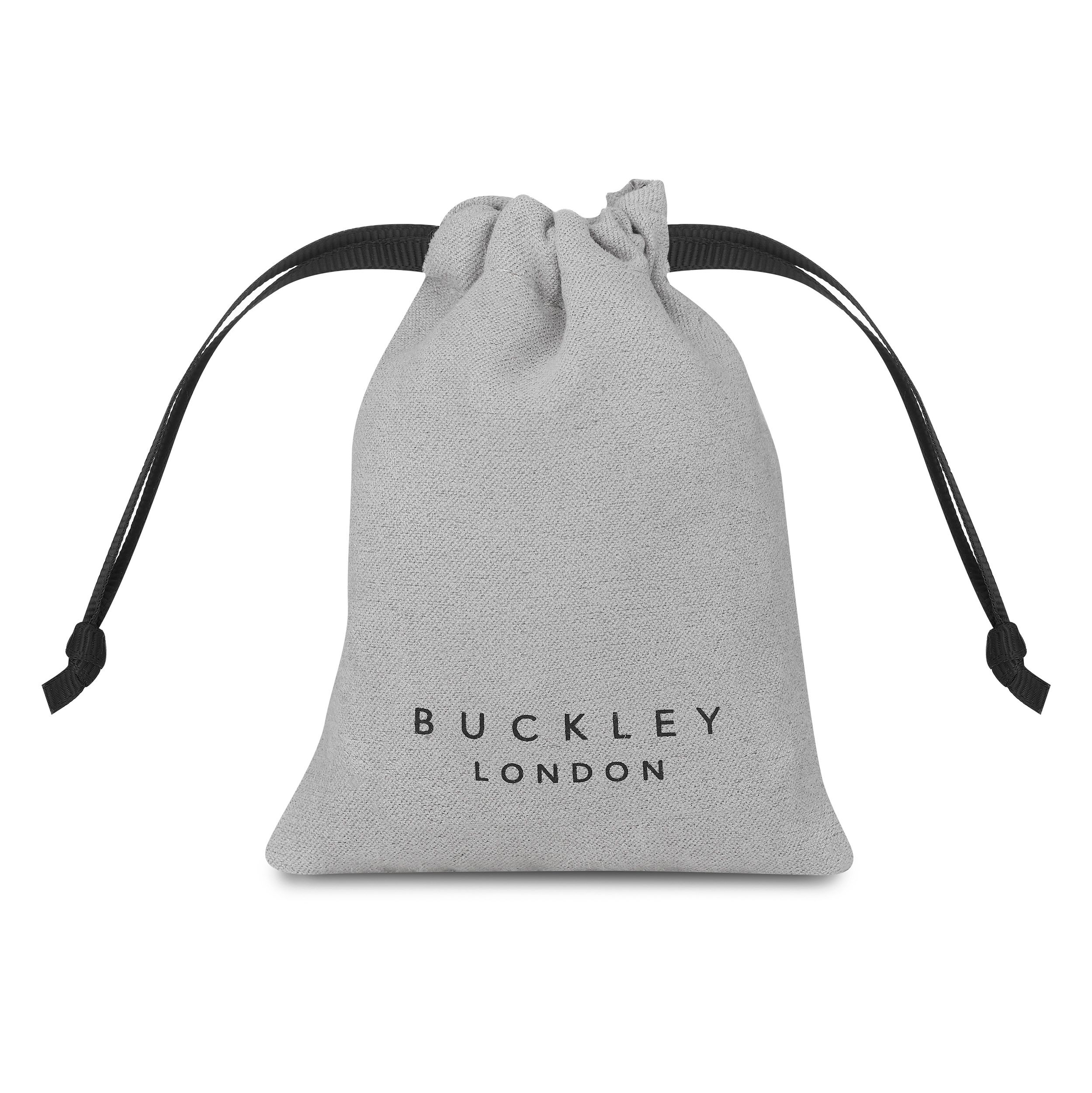 Buckley London Stellar Bangle - Silver Bag