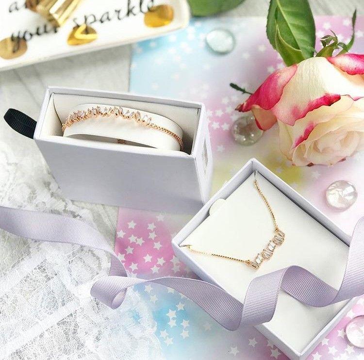 Buckley London Rose Gold Friendship Bracelet