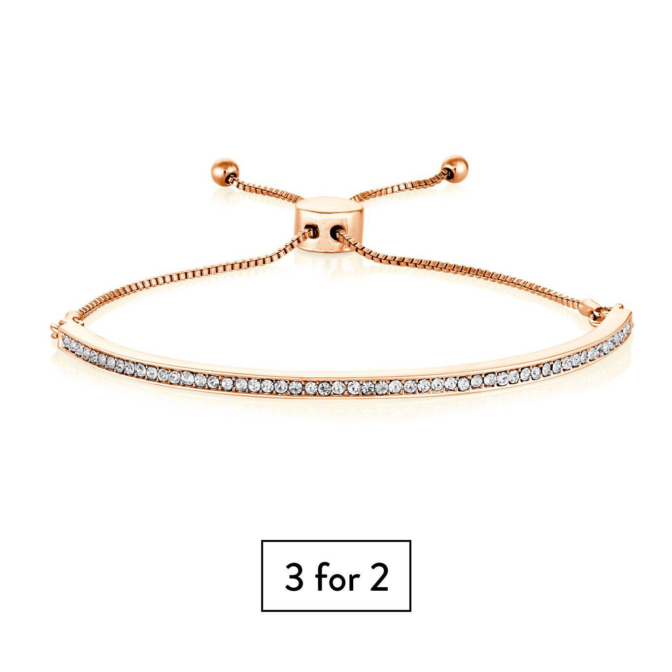 Buckley London Portobello Bracelet - Rose Gold