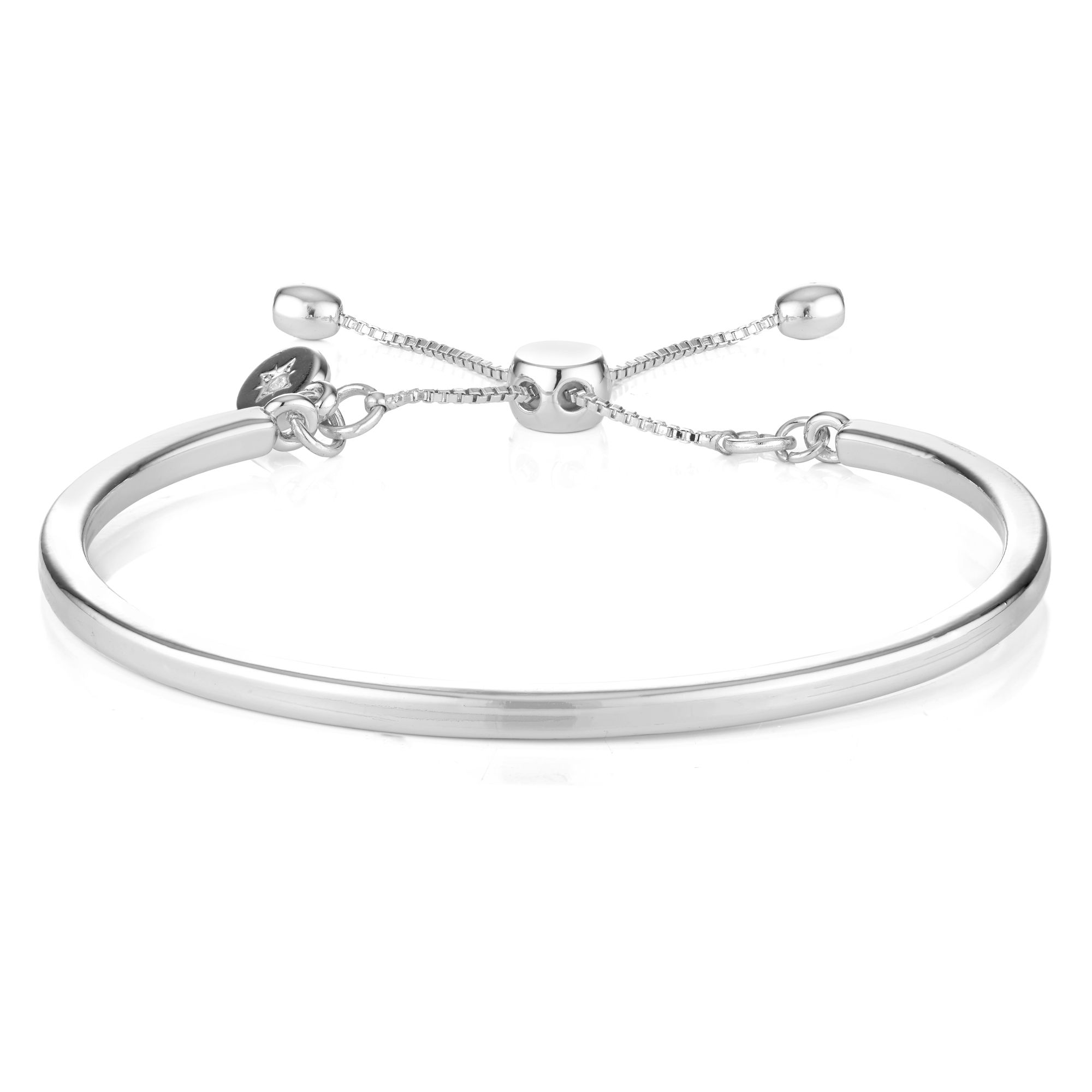 Buckley London Piccadilly Bangle - Silver