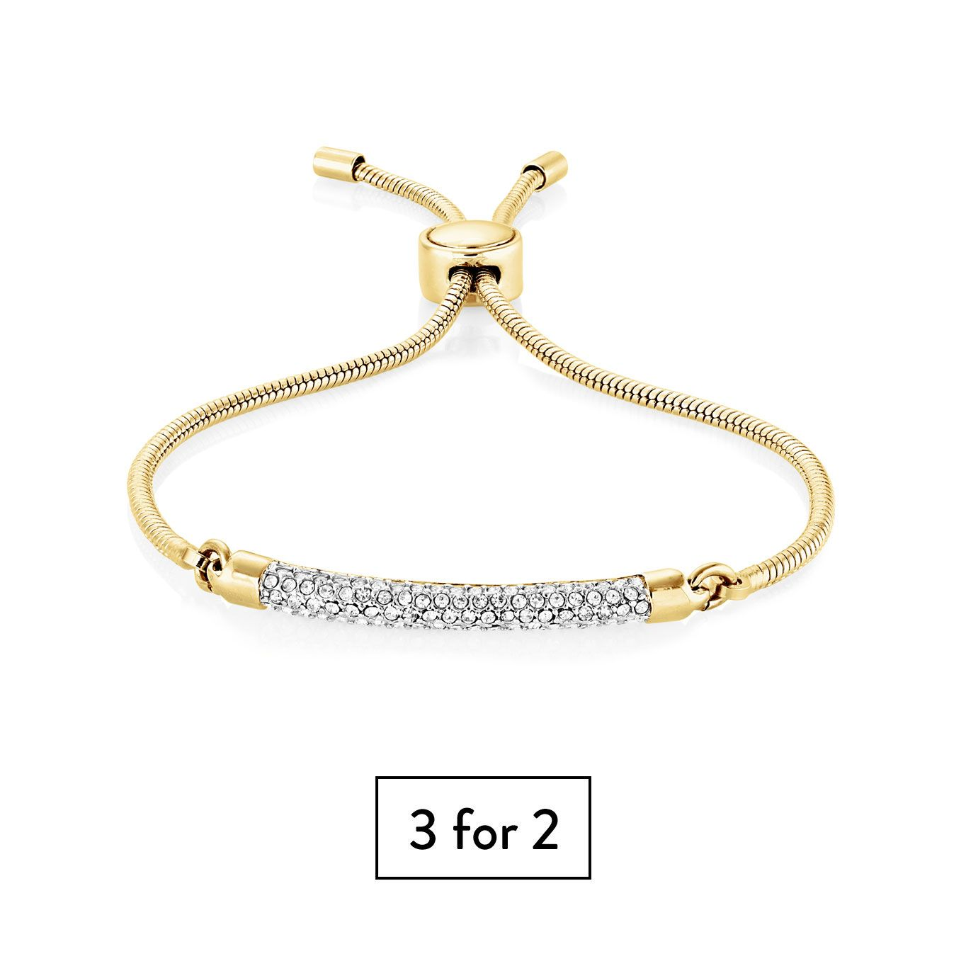 Buckley London Hampton Bracelet - Gold
