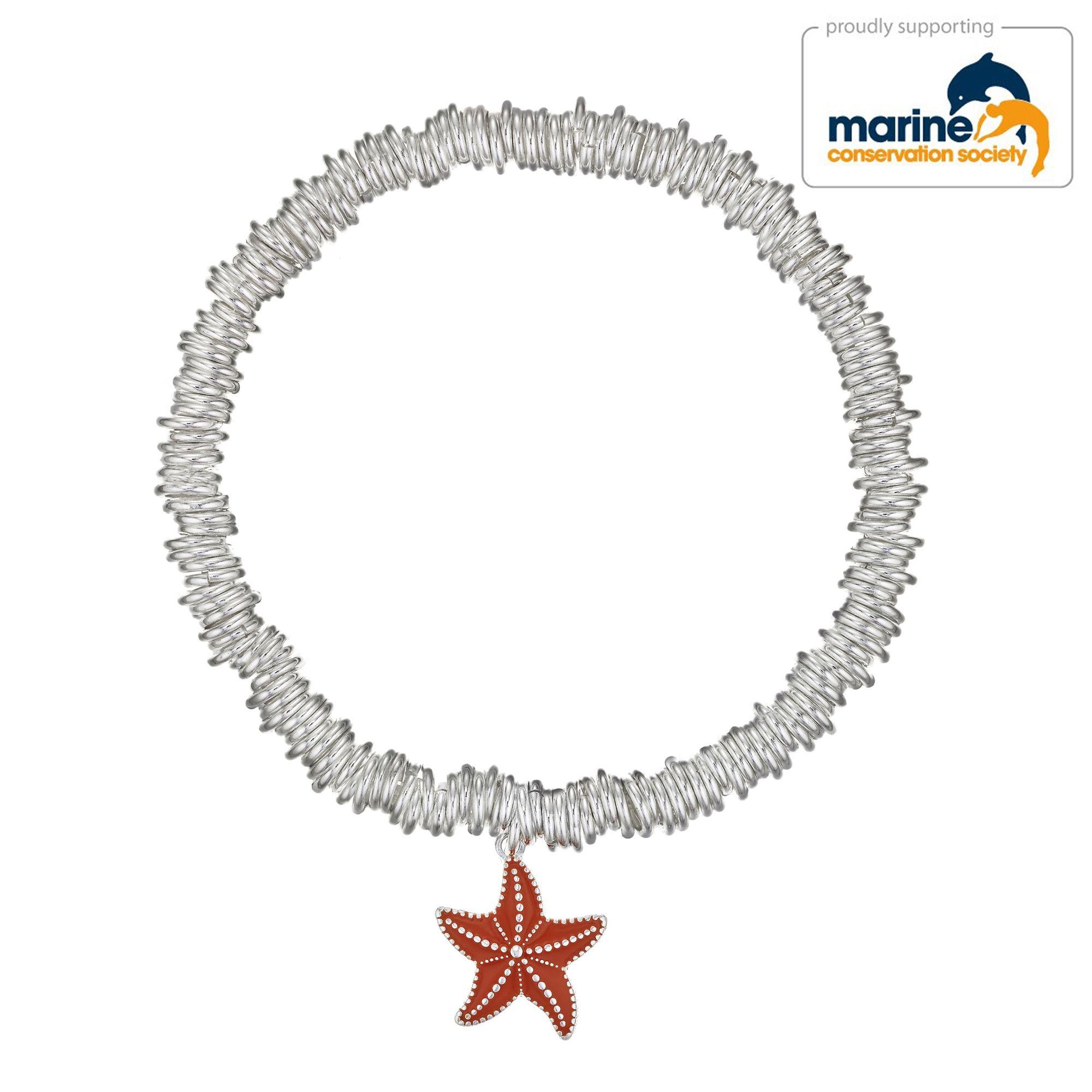 Buckley London Starfish Charm Candy Bracelet
