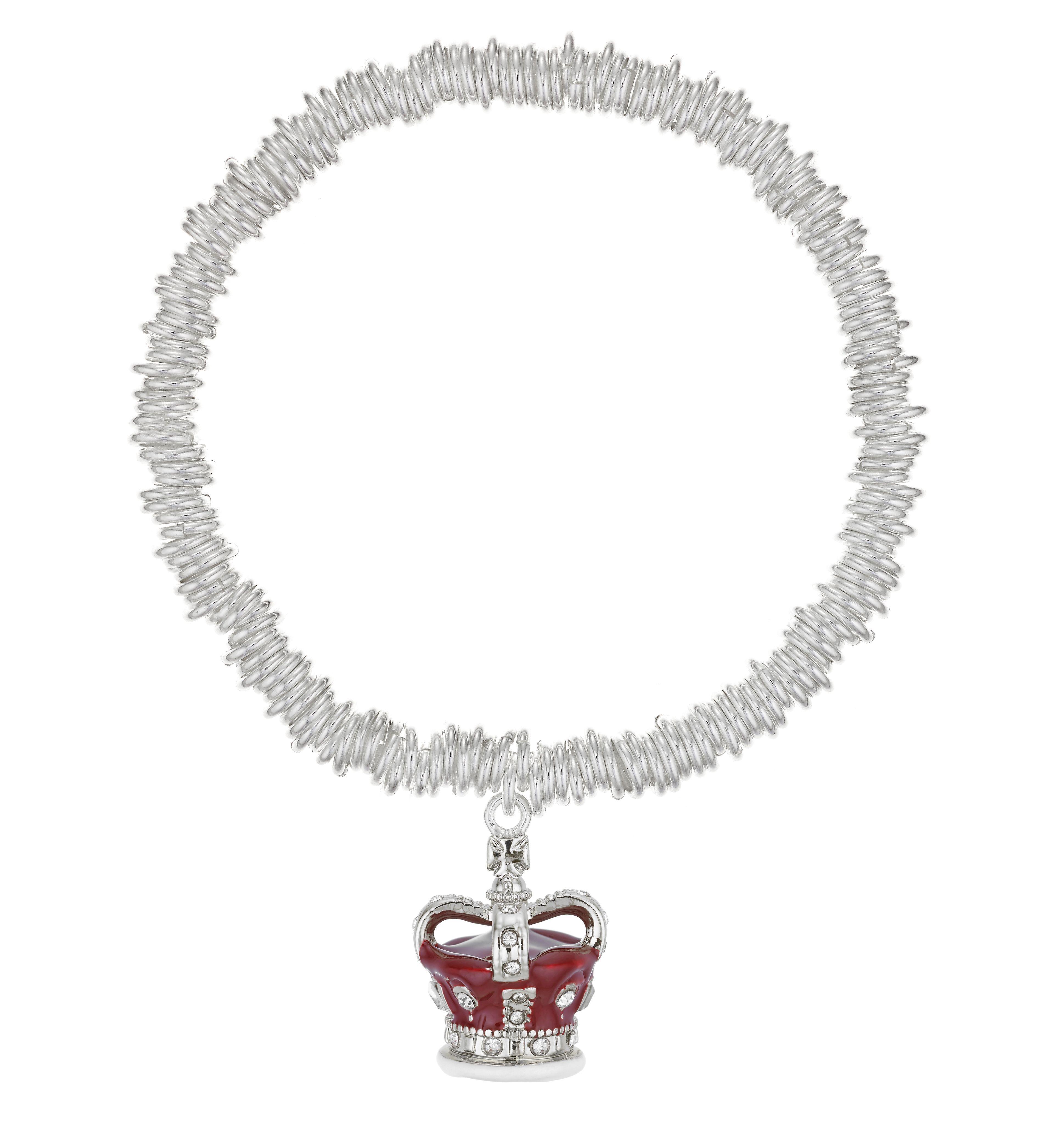 Buckley London Royal Crown Charm Bracelet
