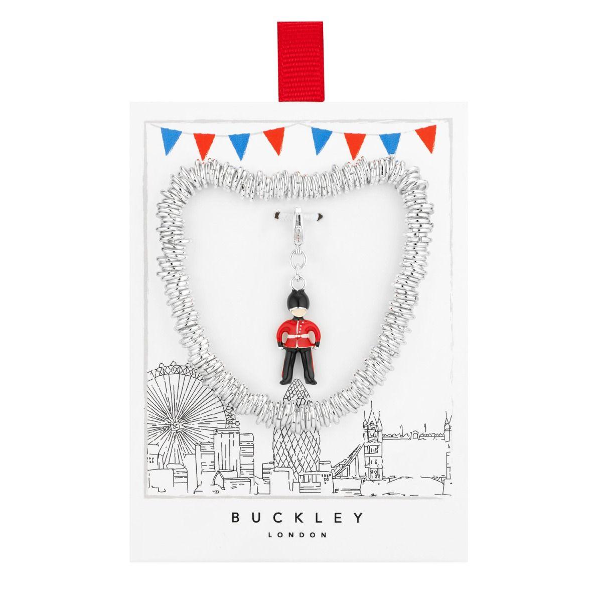 Buckley London Queens Guard Charm Bracelet