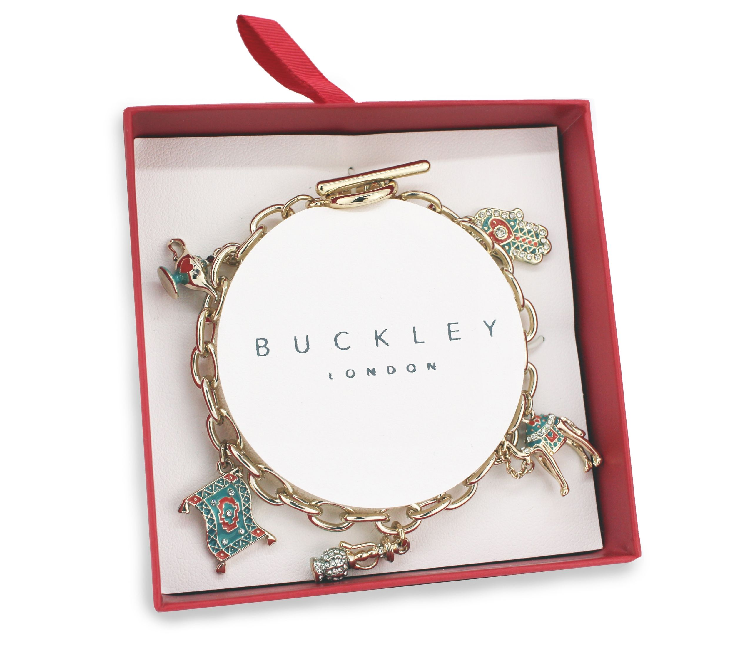 Buckley London Eastern Wishes Charm Bracelet Box