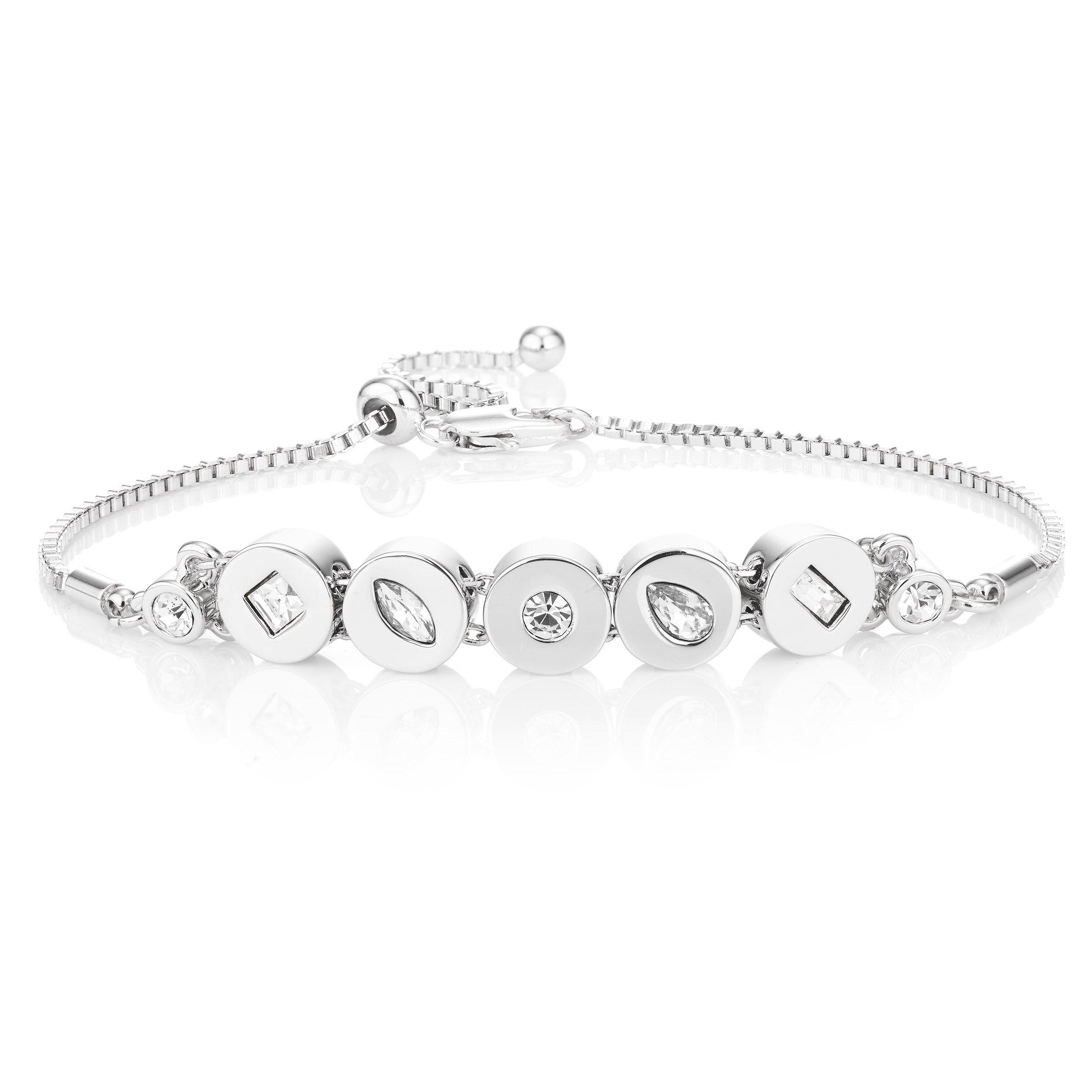 Buckley London Knightley Friendship Bracelet - Silver