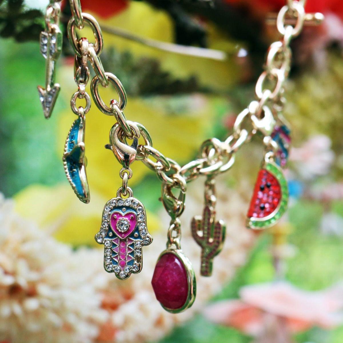 Paradise Charm Bracelet