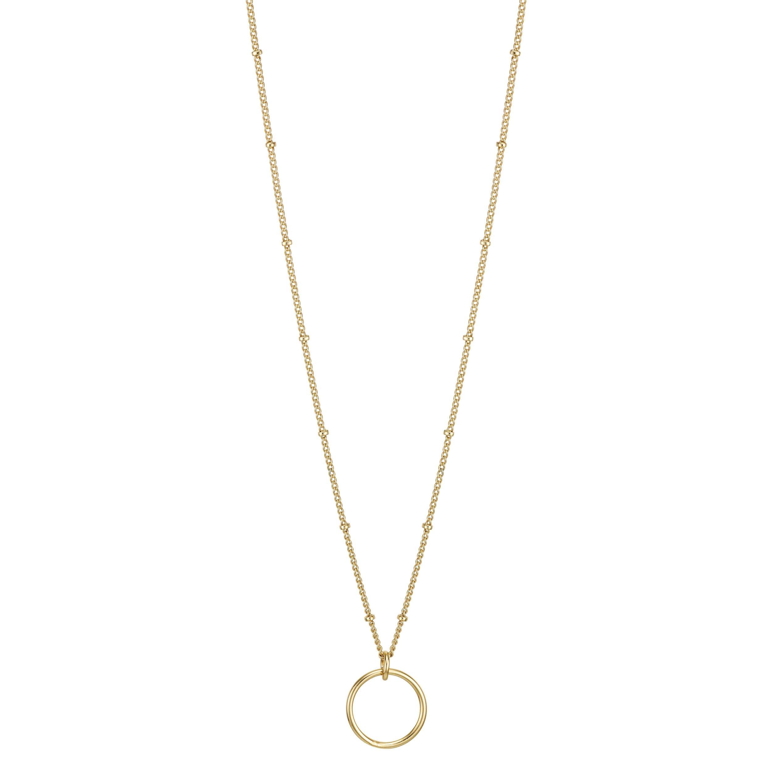 Buckley London Gold Long Profile Chain