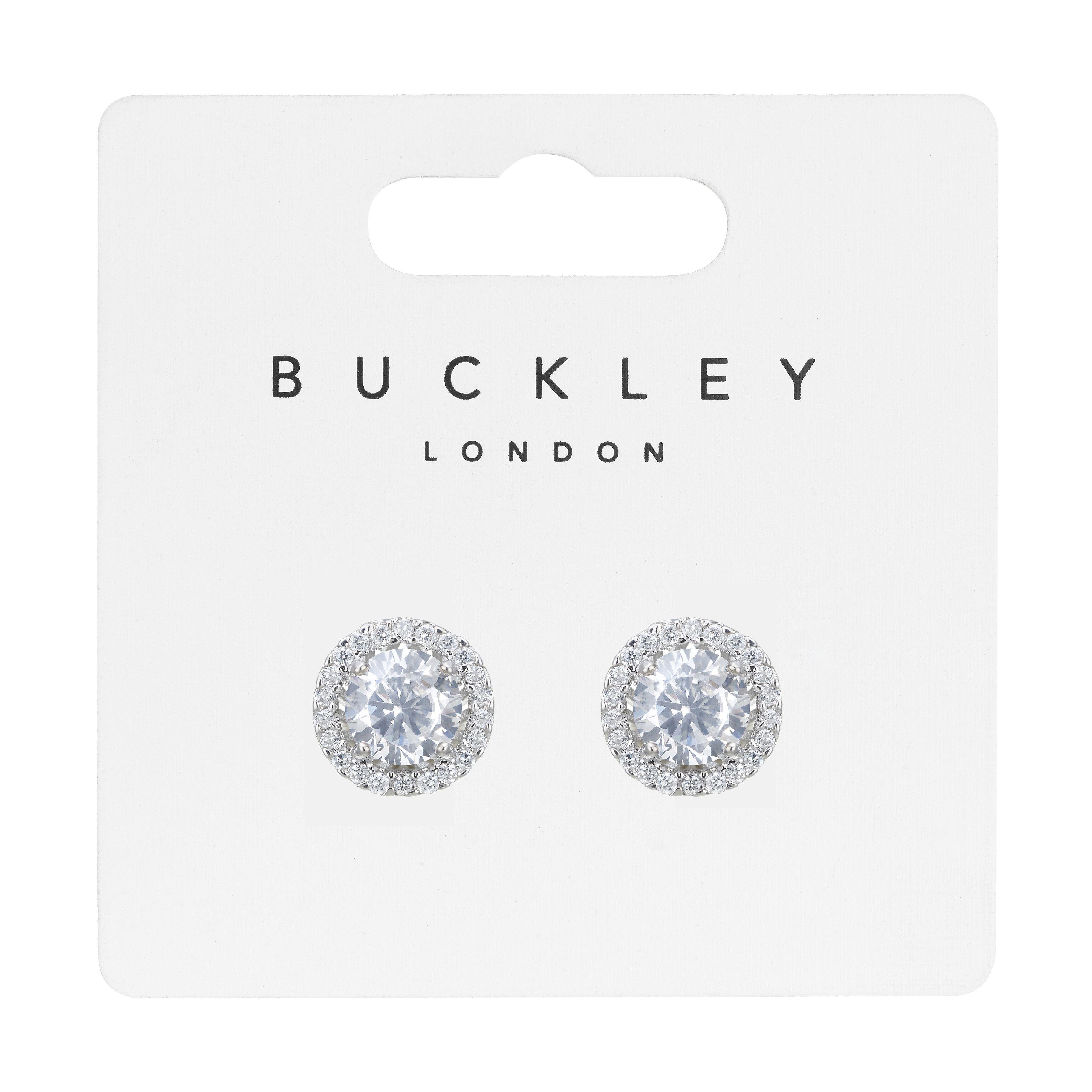 Buckley London Classic Brilliant-Cut Stud Earrings