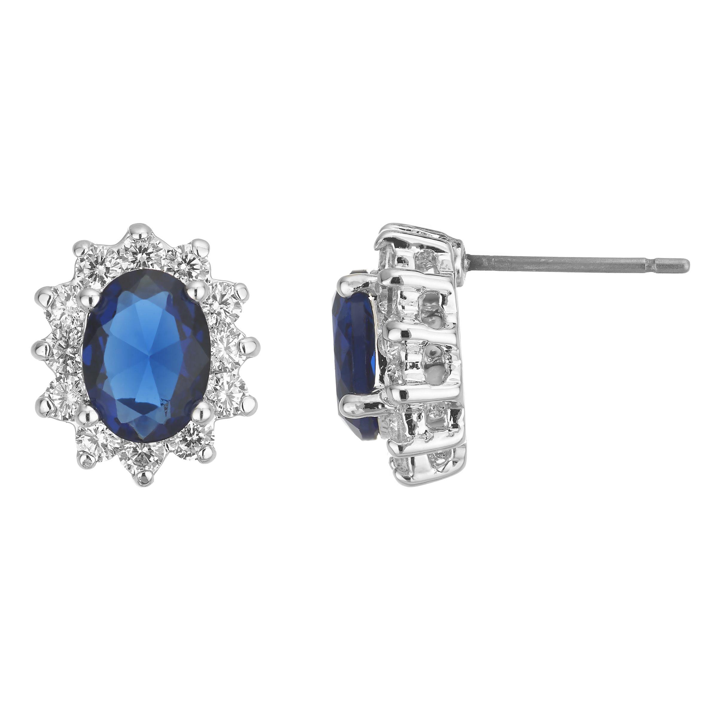 Buckley Royal Celebration Blue Stud Earrings
