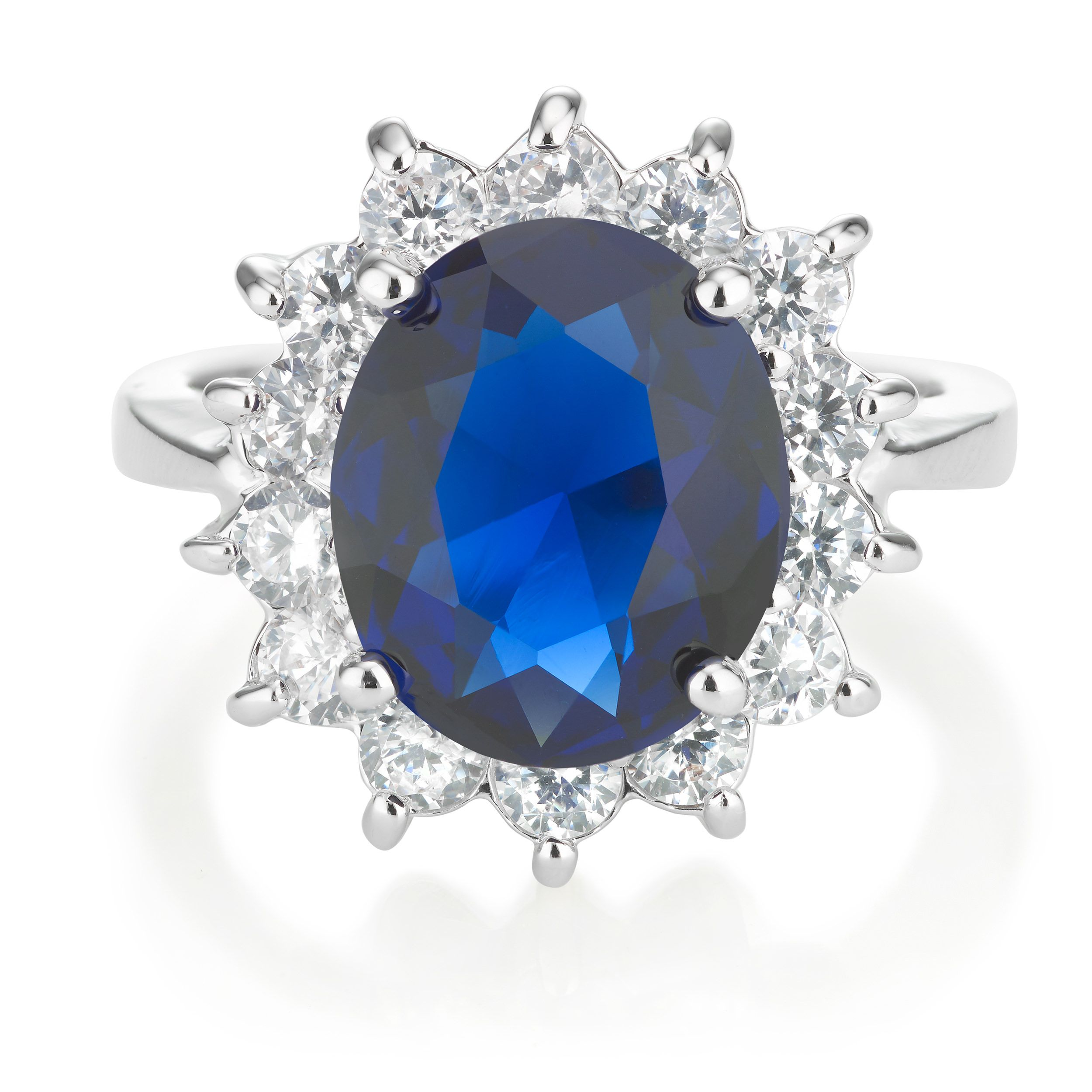 Buckley London Royal Celebration Blue Ring