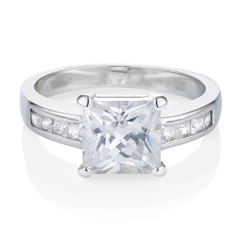 Buckley London Classic Princess-Cut Ring