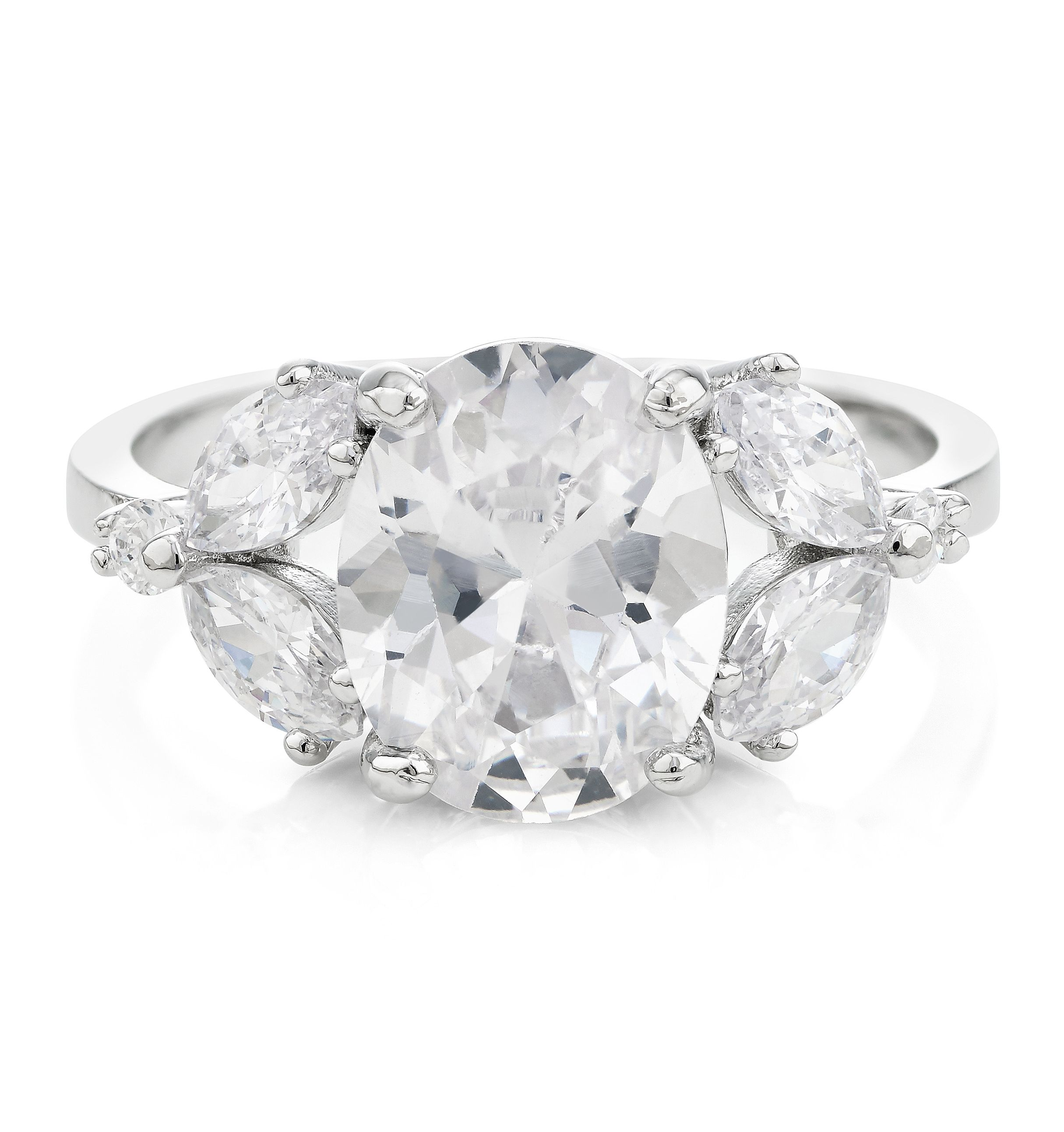 Buckley London Classic Cluster Ring