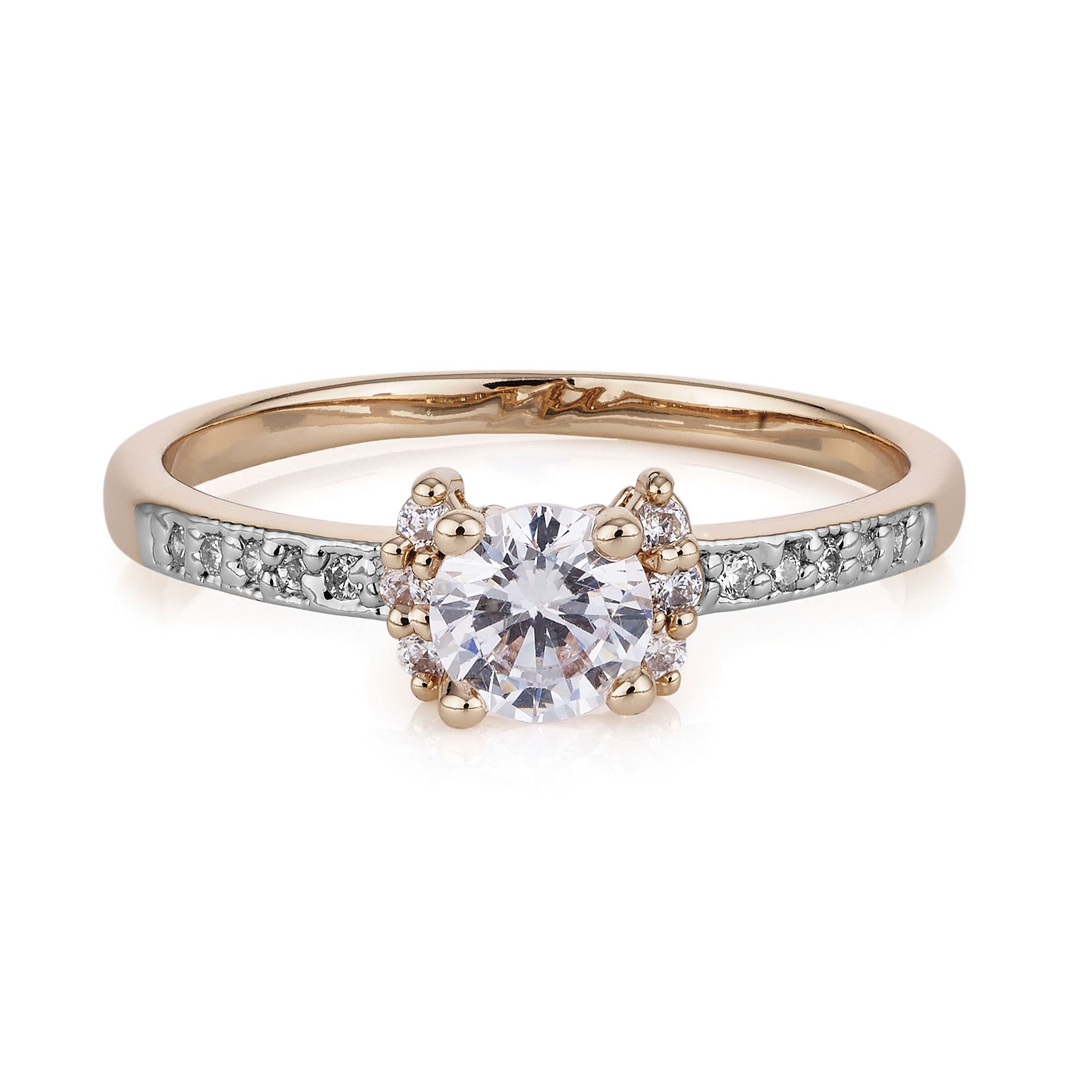 Buckley London Rose Gold Solitaire Ring