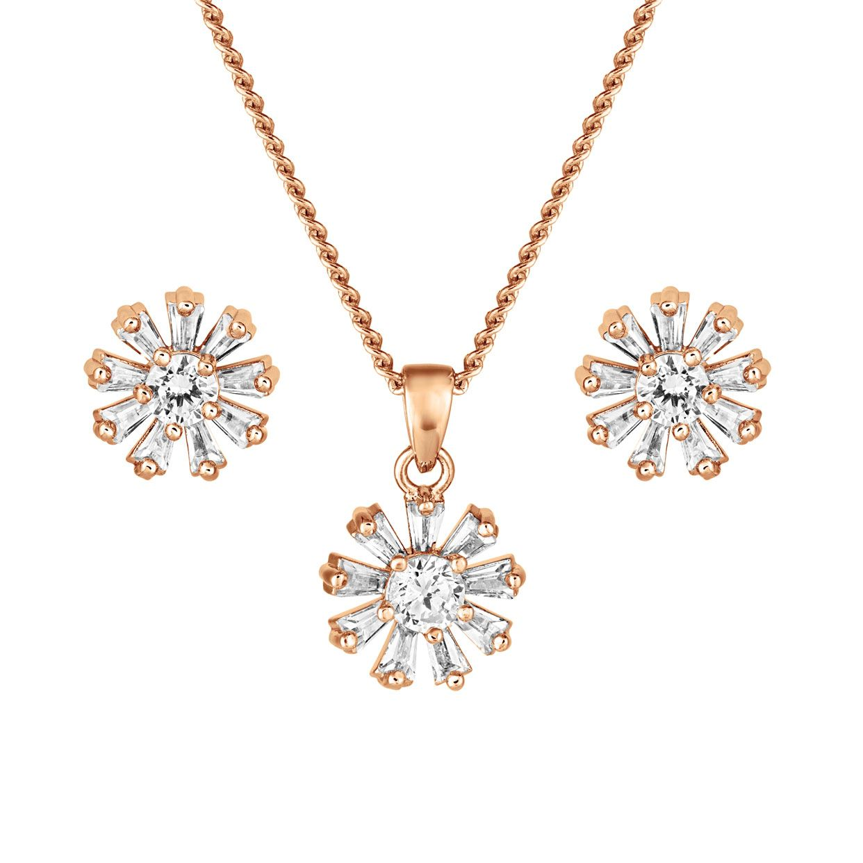 Buckley London Finchley Set - Rose Gold