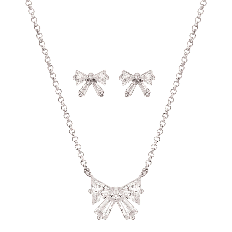 Buckley London Bow Pendant & Earring Gift Set