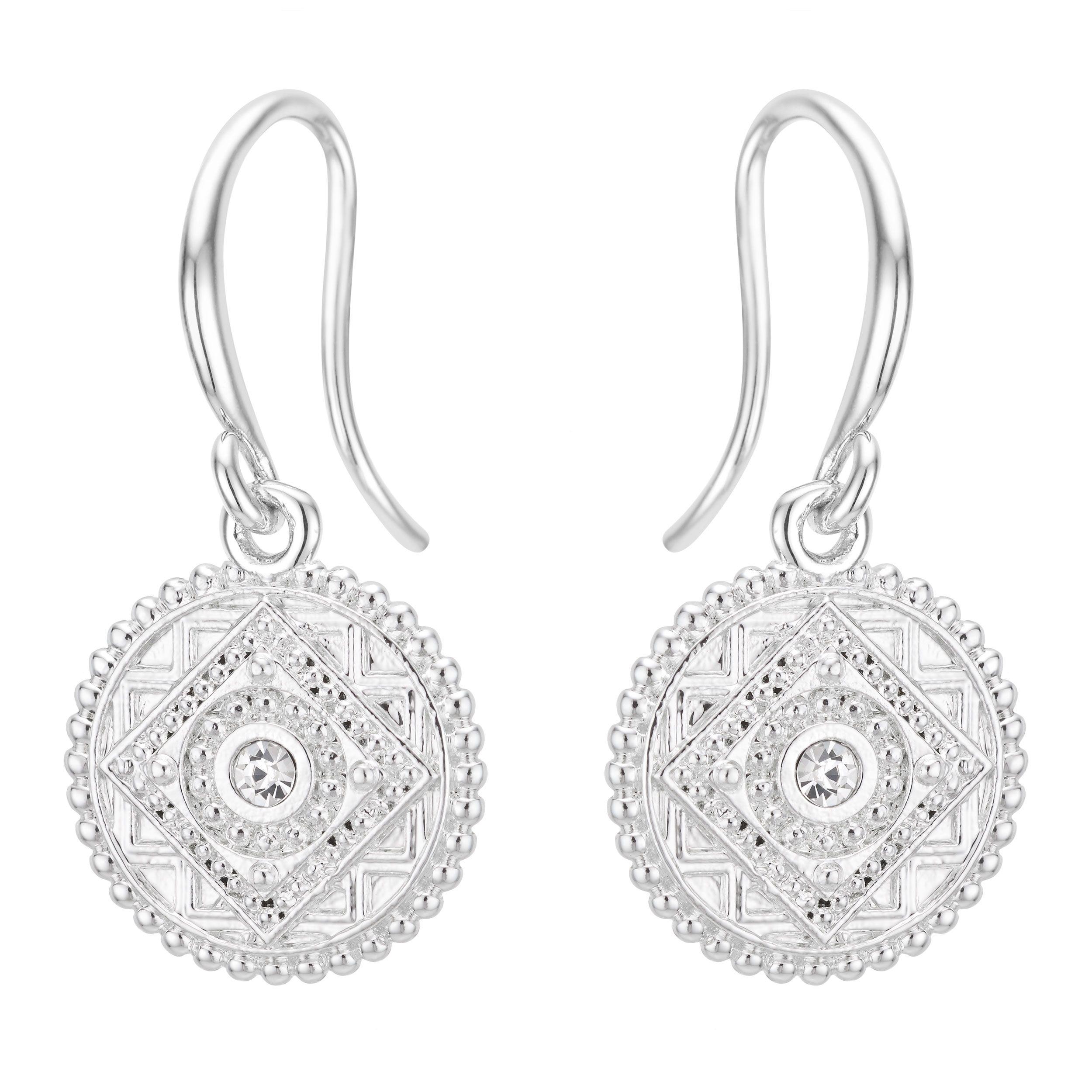 Buckley London Faith Coin Earrings