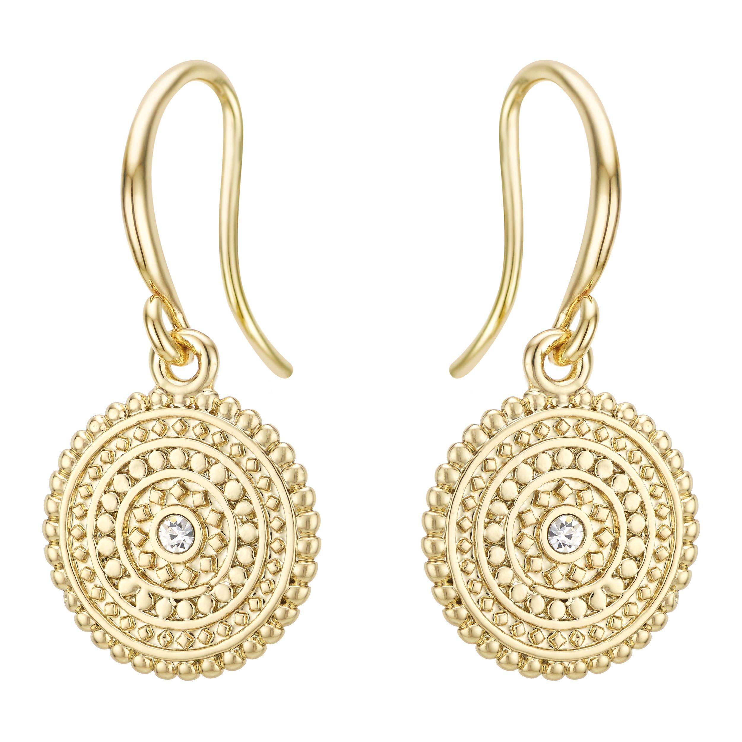 Buckley London La Havas Coin Earrings