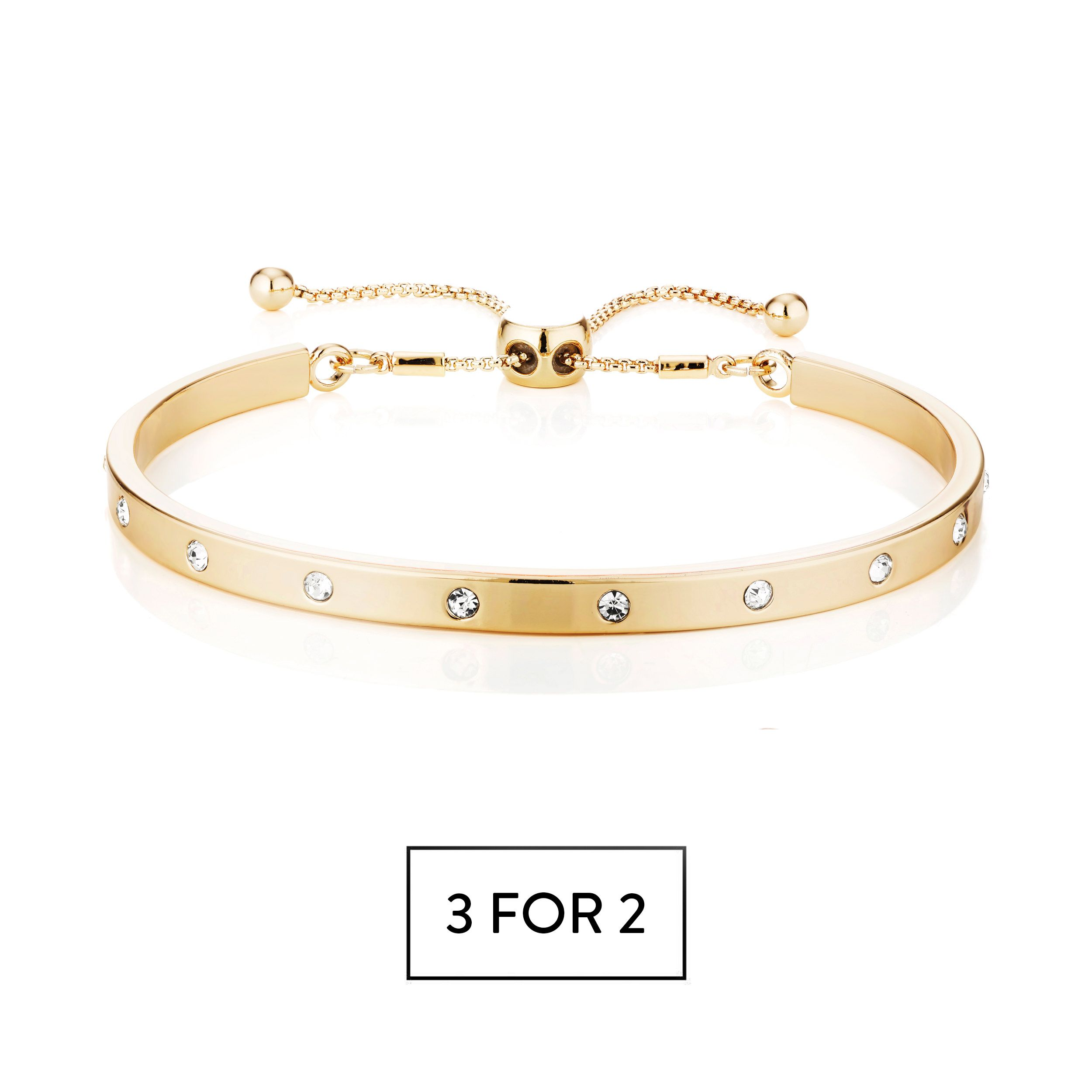 Buckley London Piccadilly Prima Bracelet - Gold