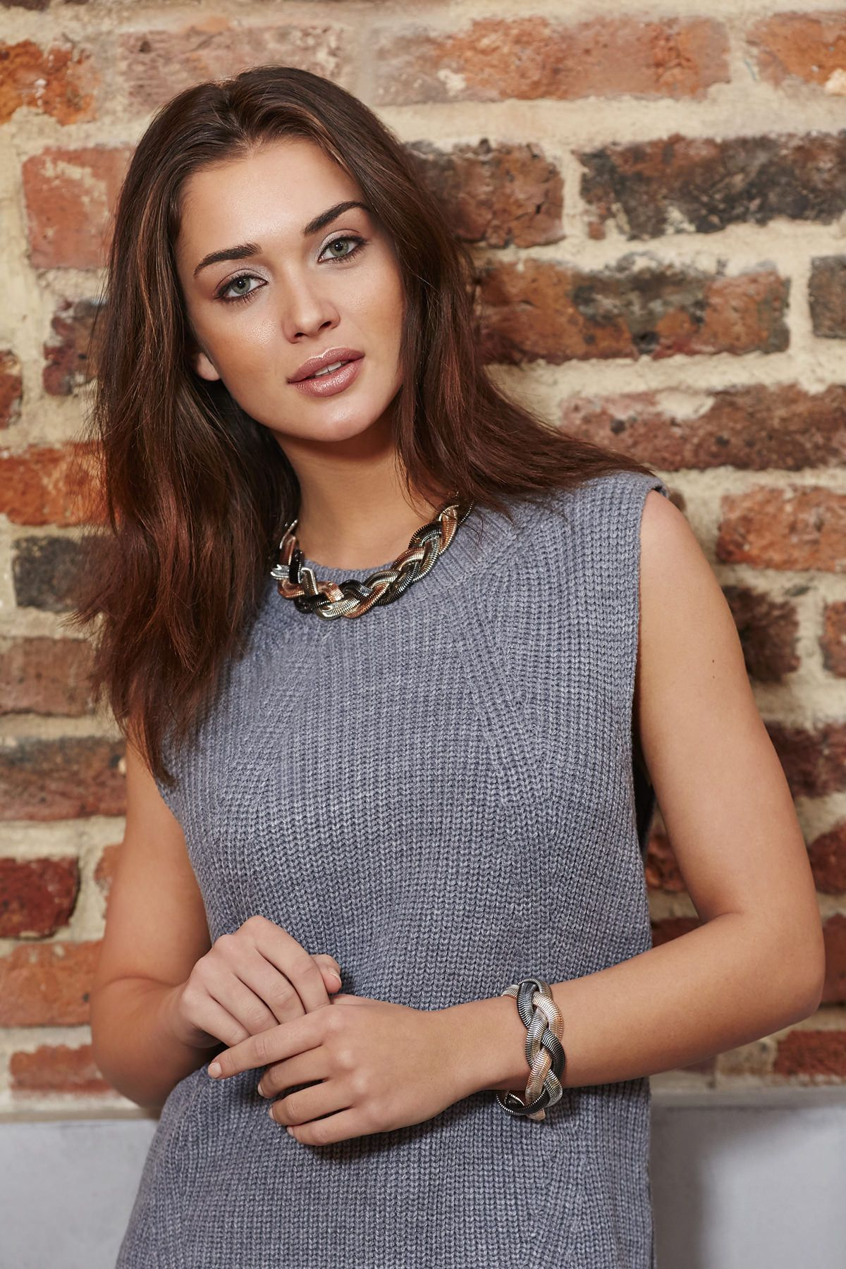 Buckley London Plaited Necklace
