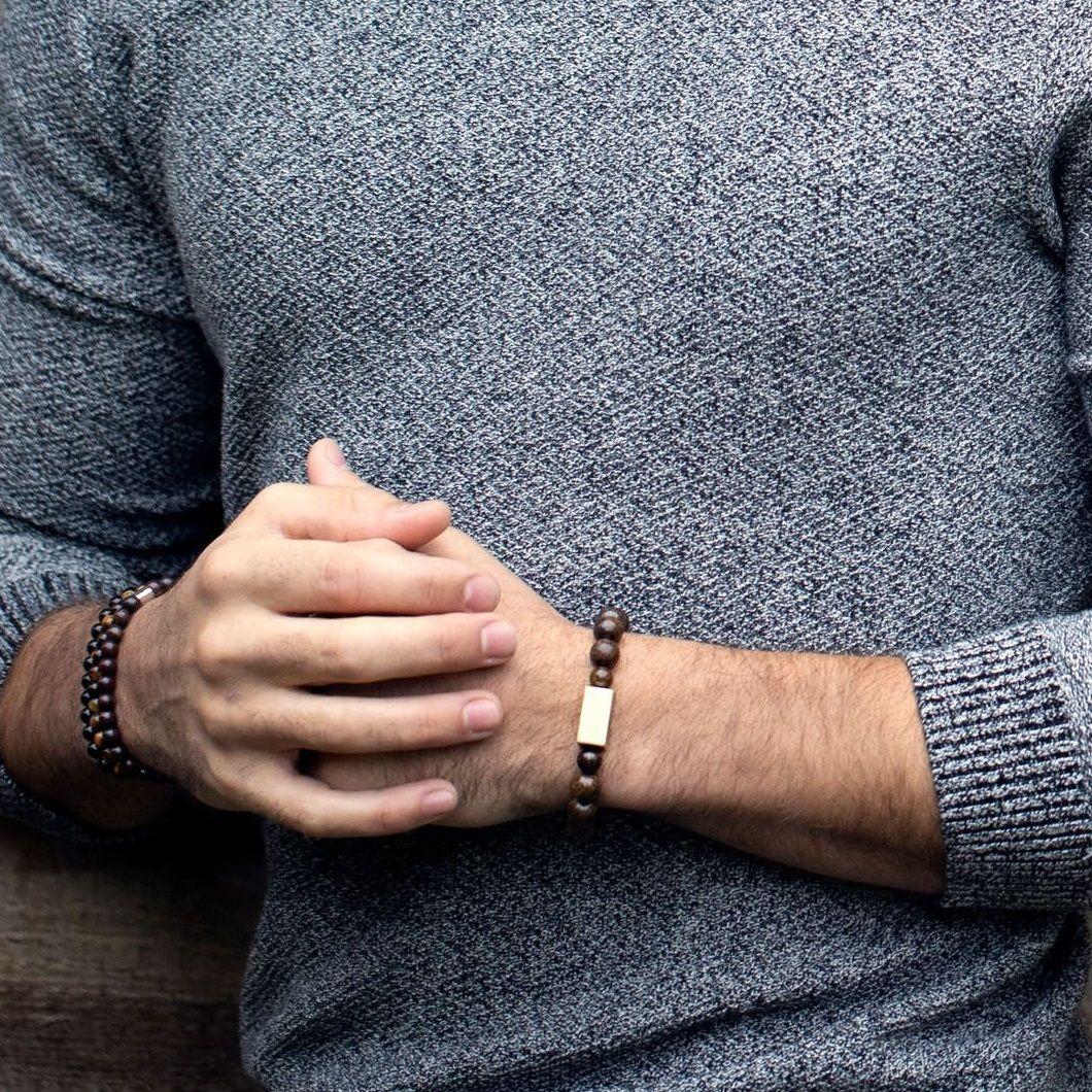 Buckley London Chunky Novello Large Beaded Bracelet