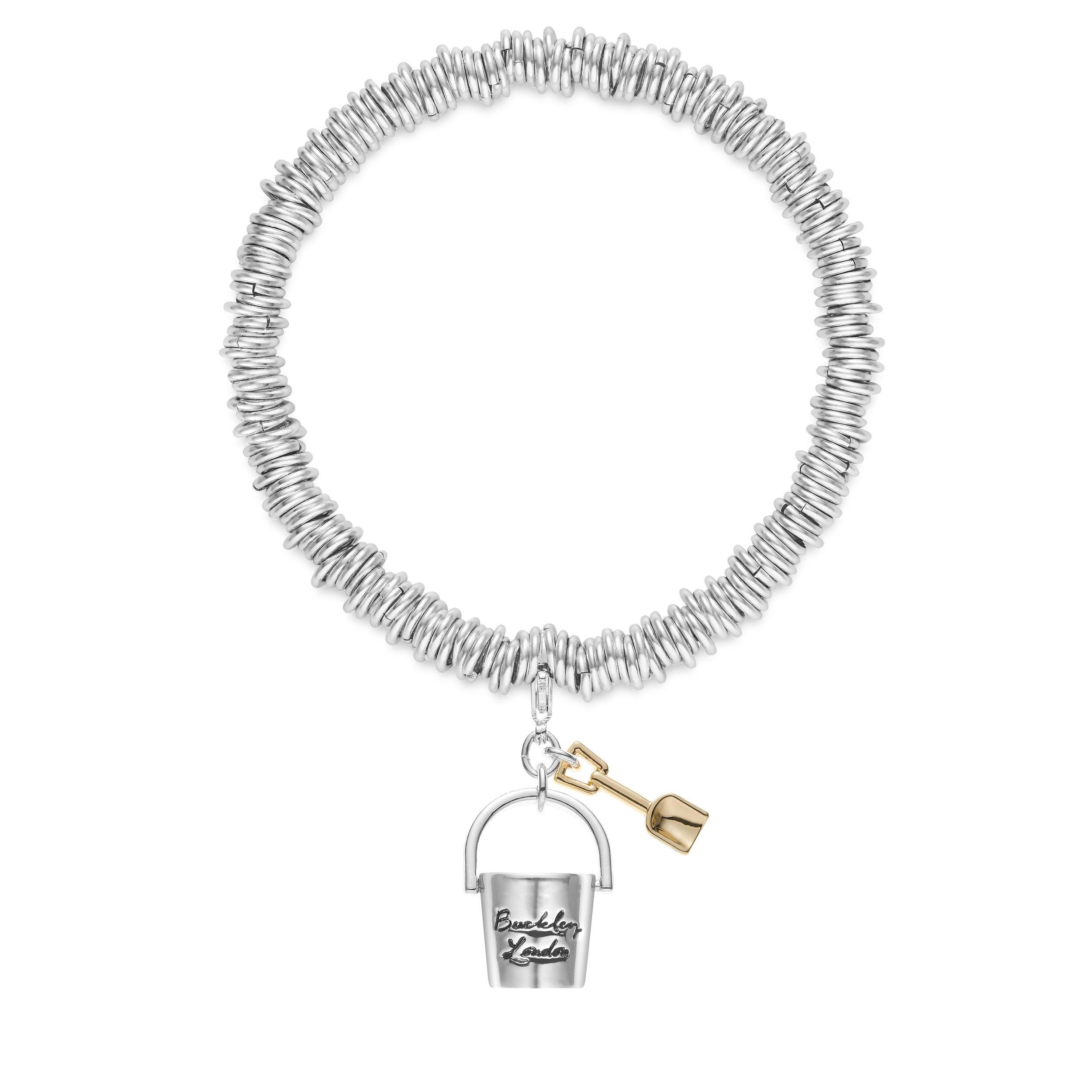 Buckley London Britsh Bucket & Spade Charm Bracelet
