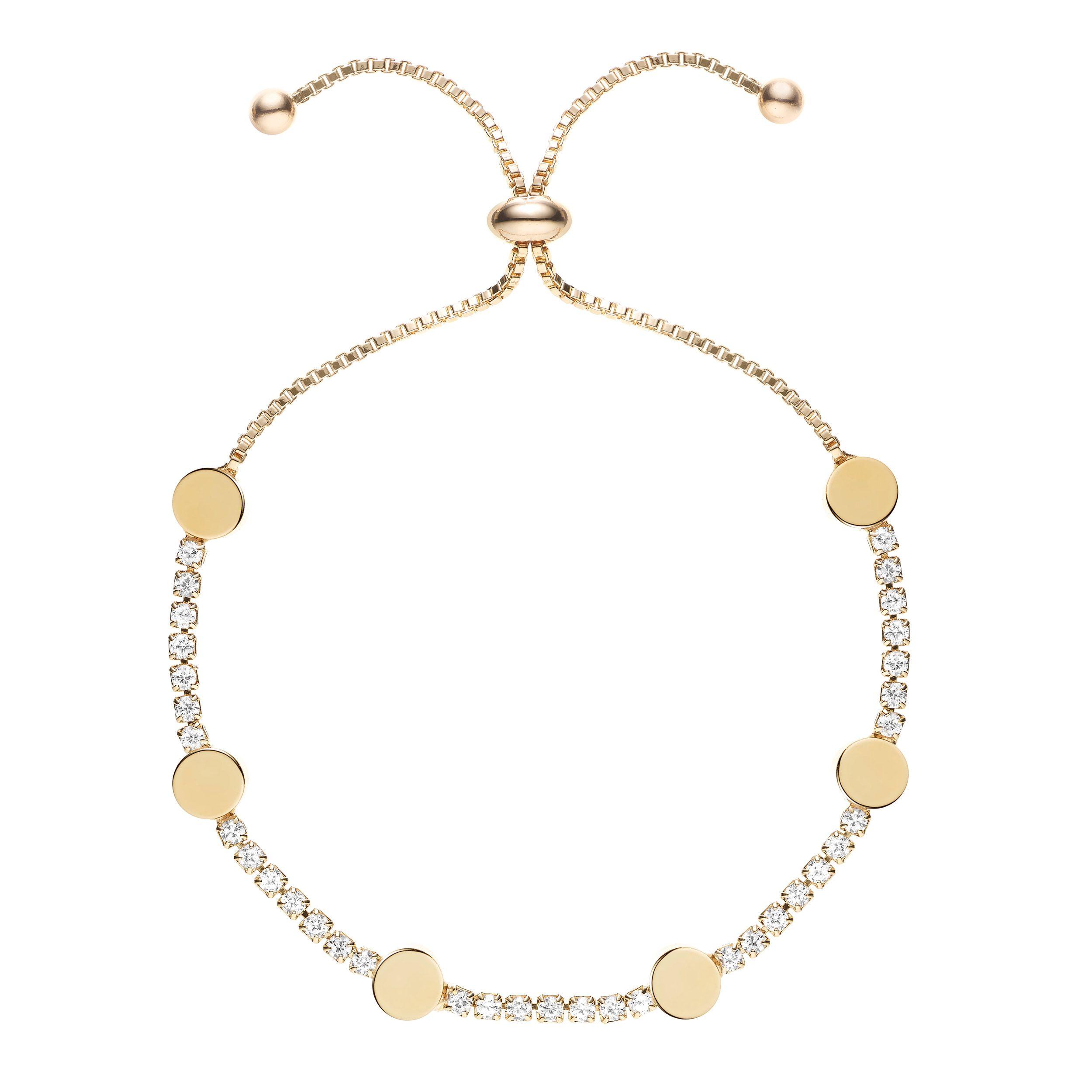 Buckley London Hugs & Kisses 'O' Bracelet - Gold