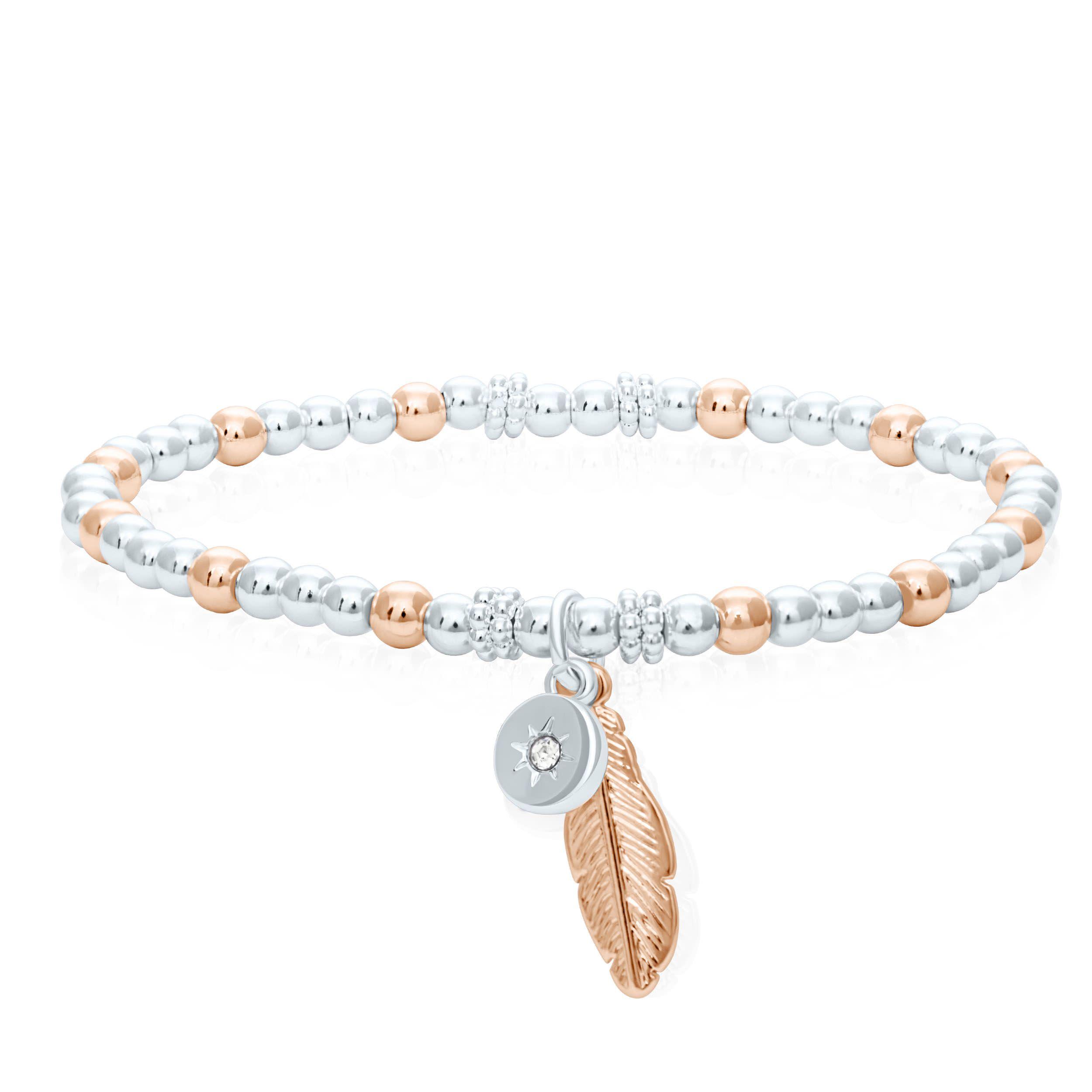 Buckley London Feather Wish Bracelet