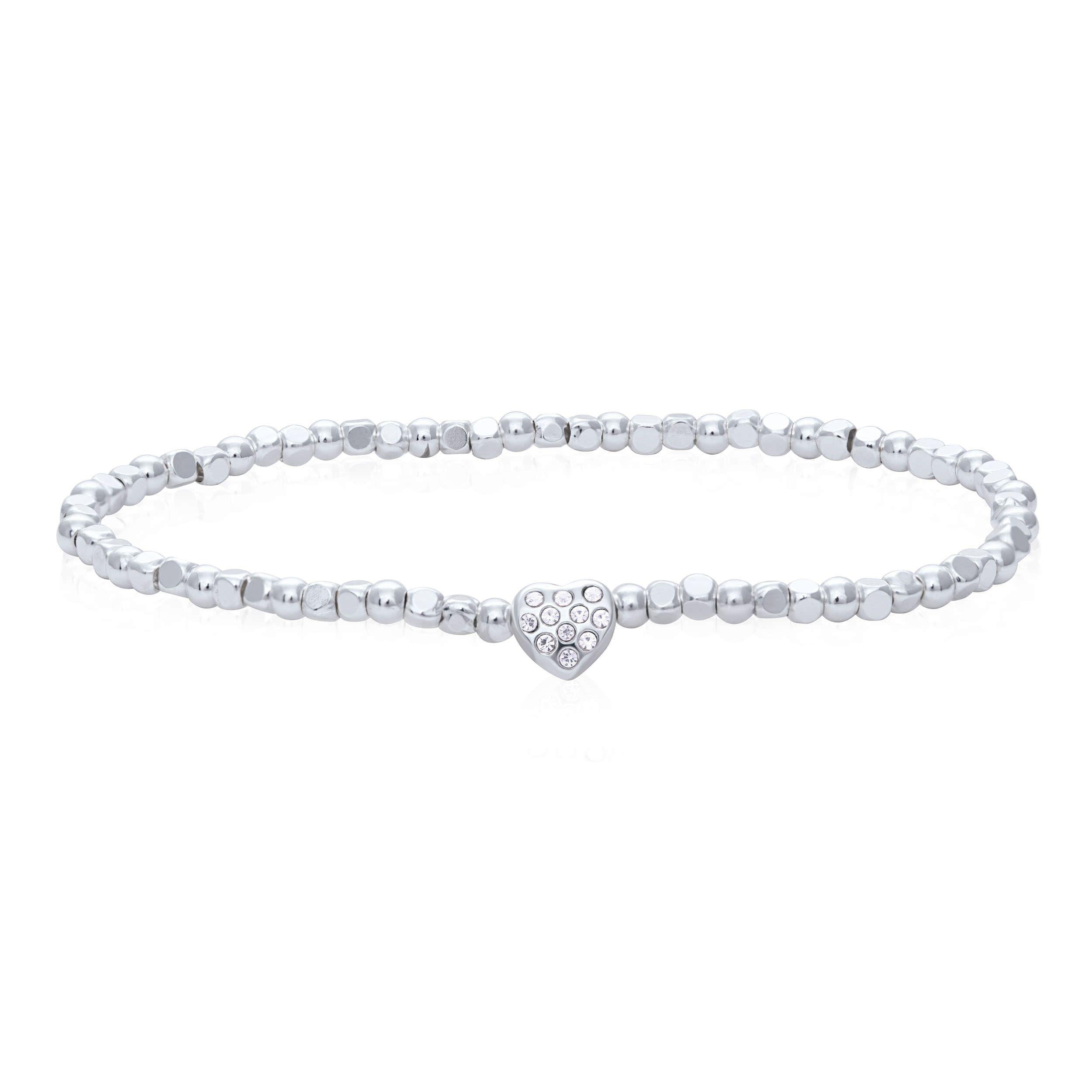 Buckley London Sparkle Heart Wish Bracelet