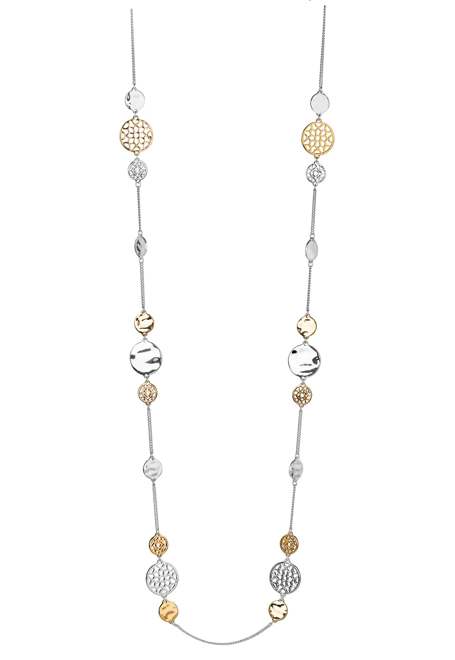 Buckley London Filigree Disc Necklace