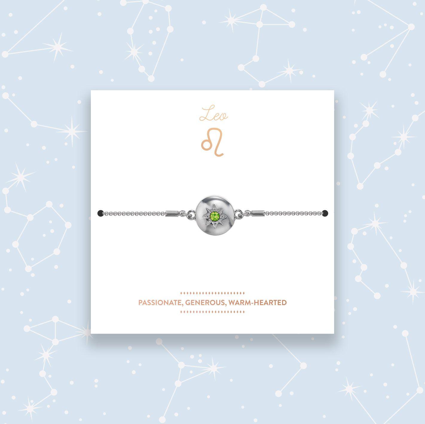 Zodiac Astro Bracelet - Leo (August)
