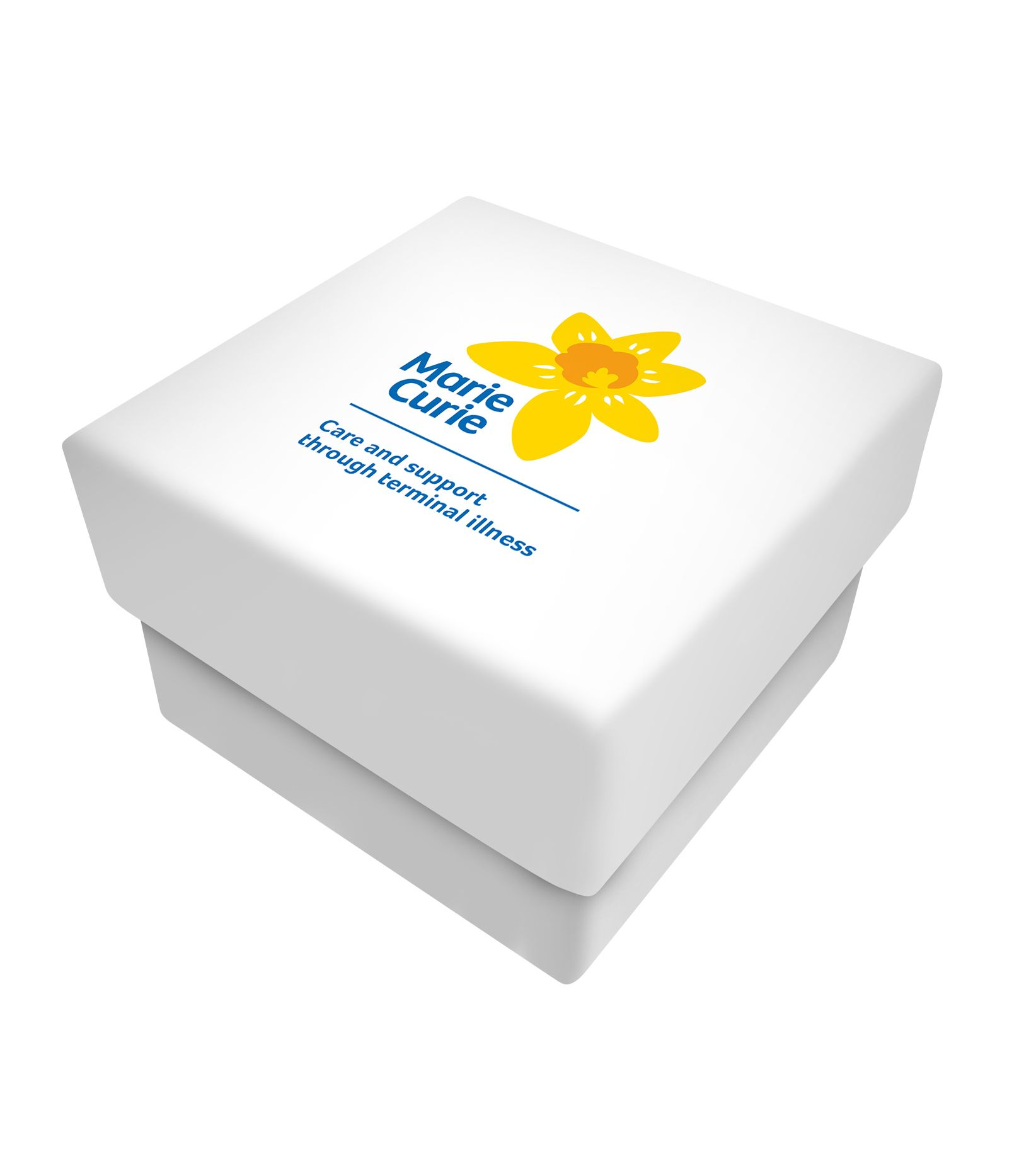 Marie Curie Enamel Daffodil Brooch Boxed