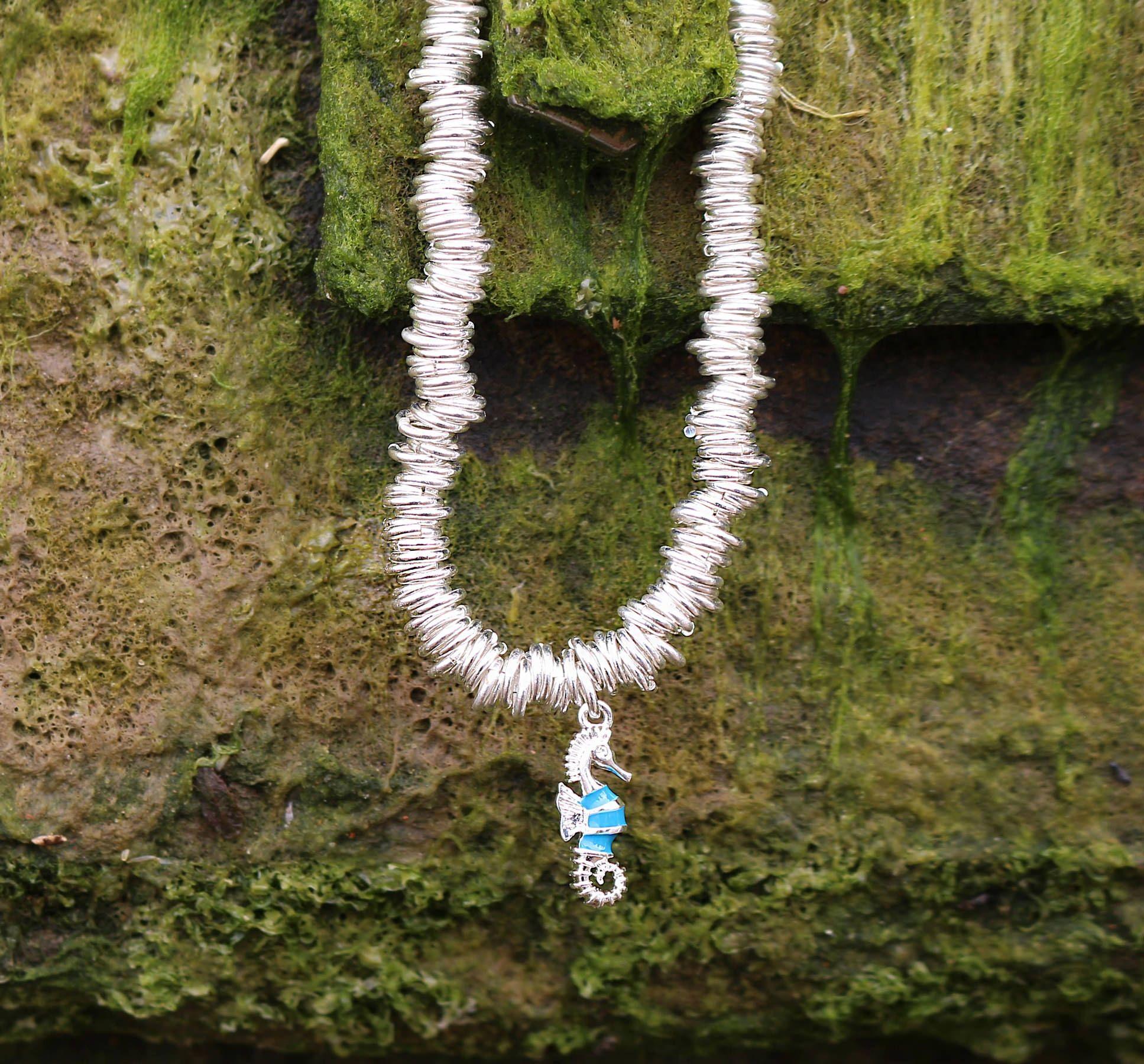Buckley London Seahorse Charm Candy Bracelet