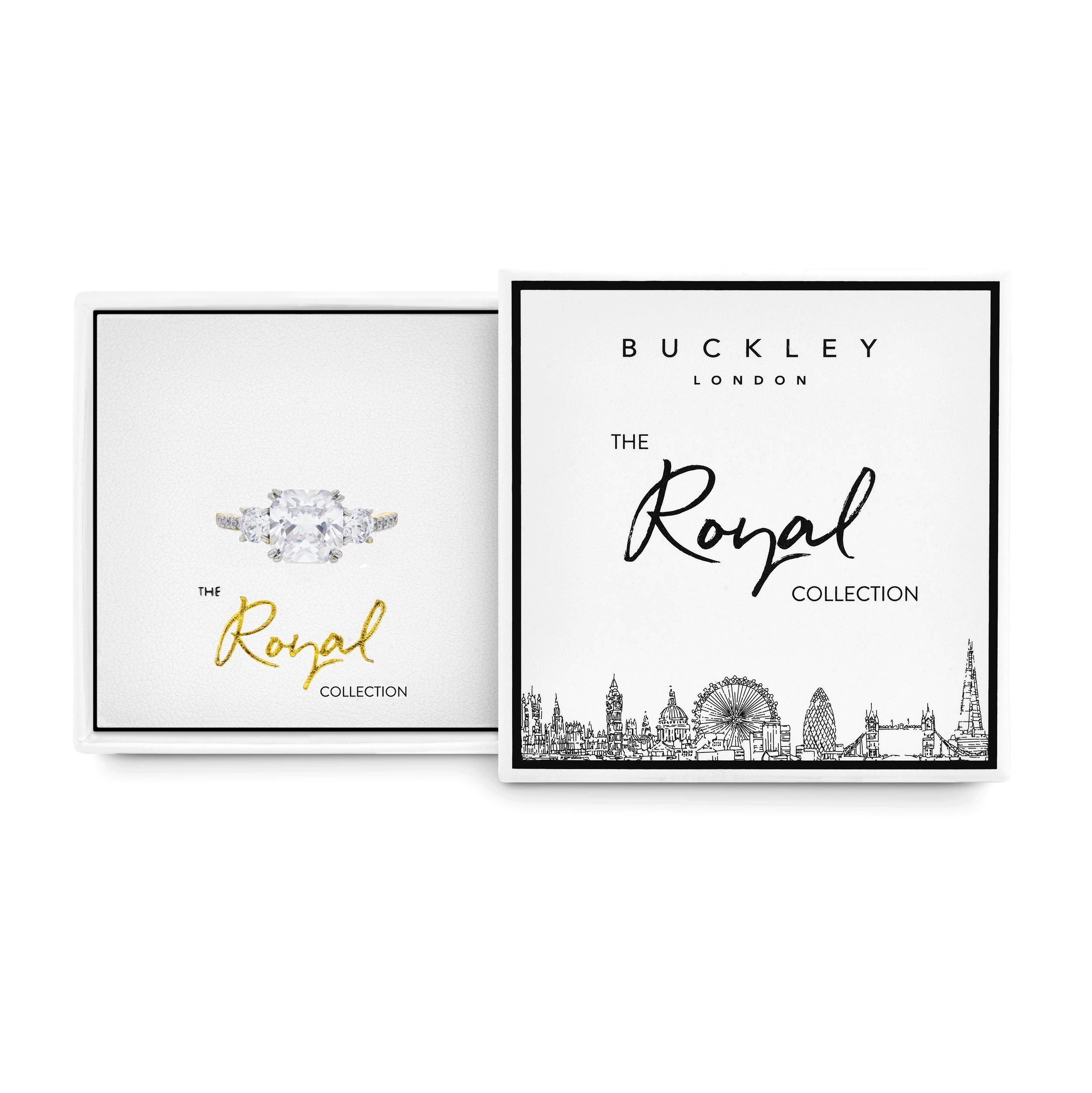 Buckley London Meghan Pavé Sparkle Ring Box