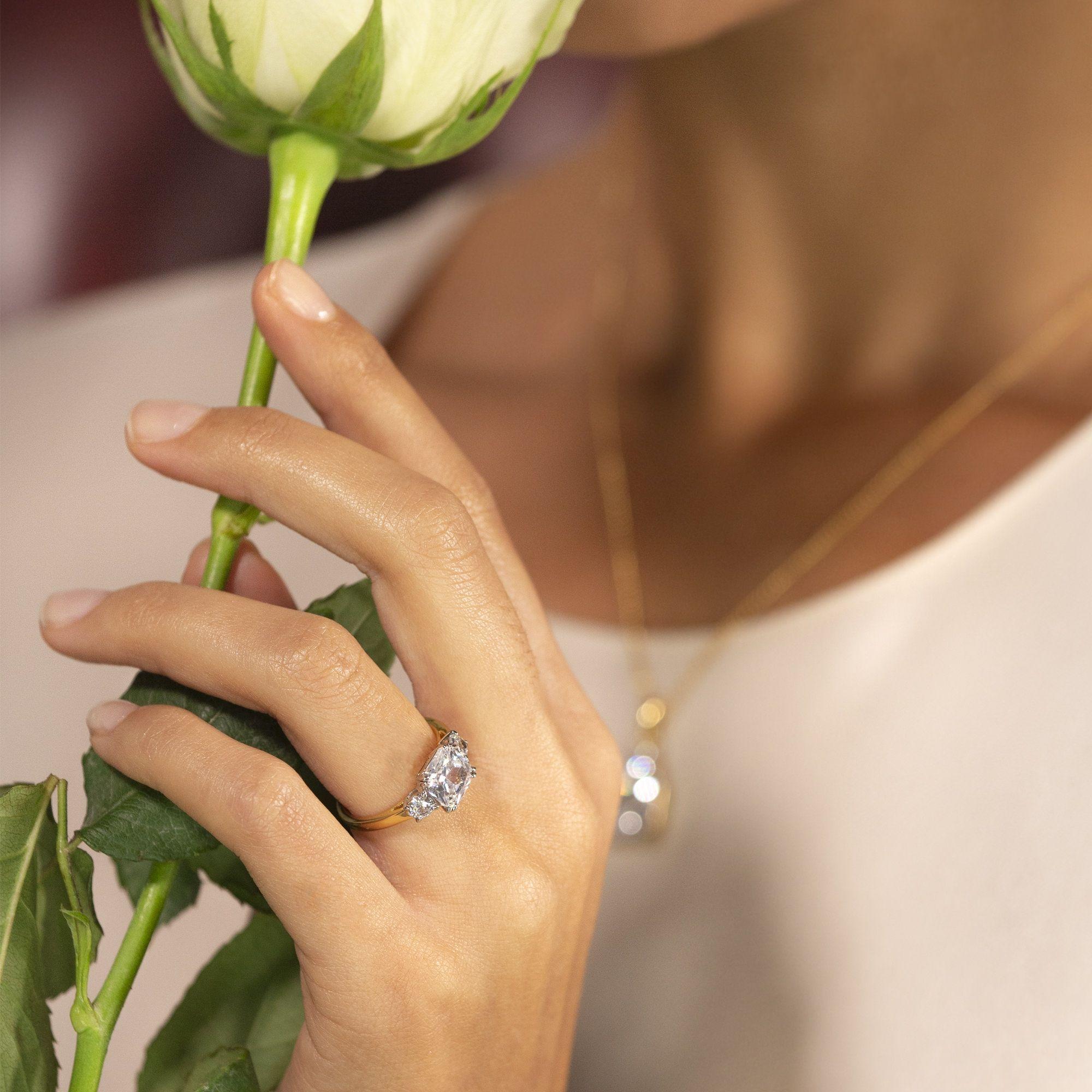 Buckley London Meghan Markle Engagement Ring Replica