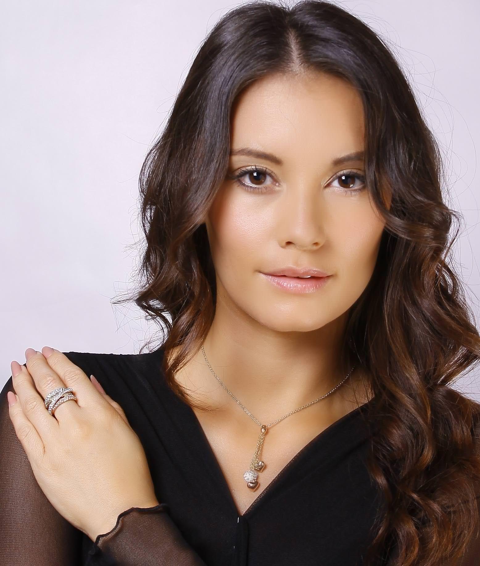 Russian Trio Jewellery Sparkle Strands Ring