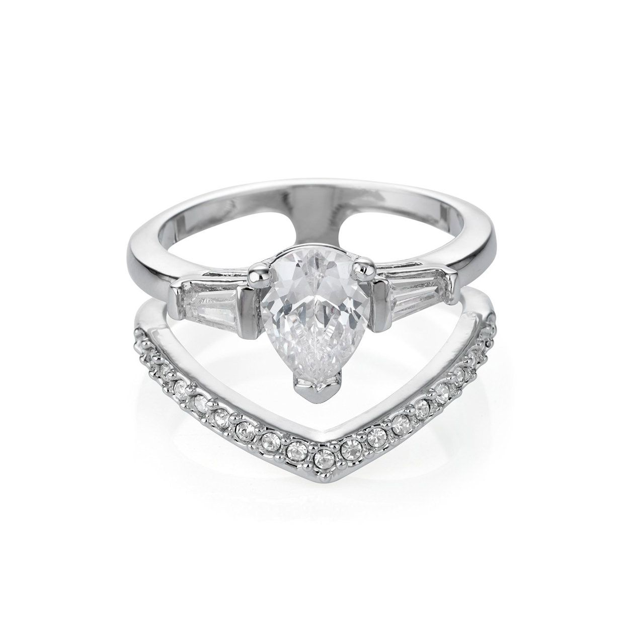 Buckley London Hatton Wishbone Ring