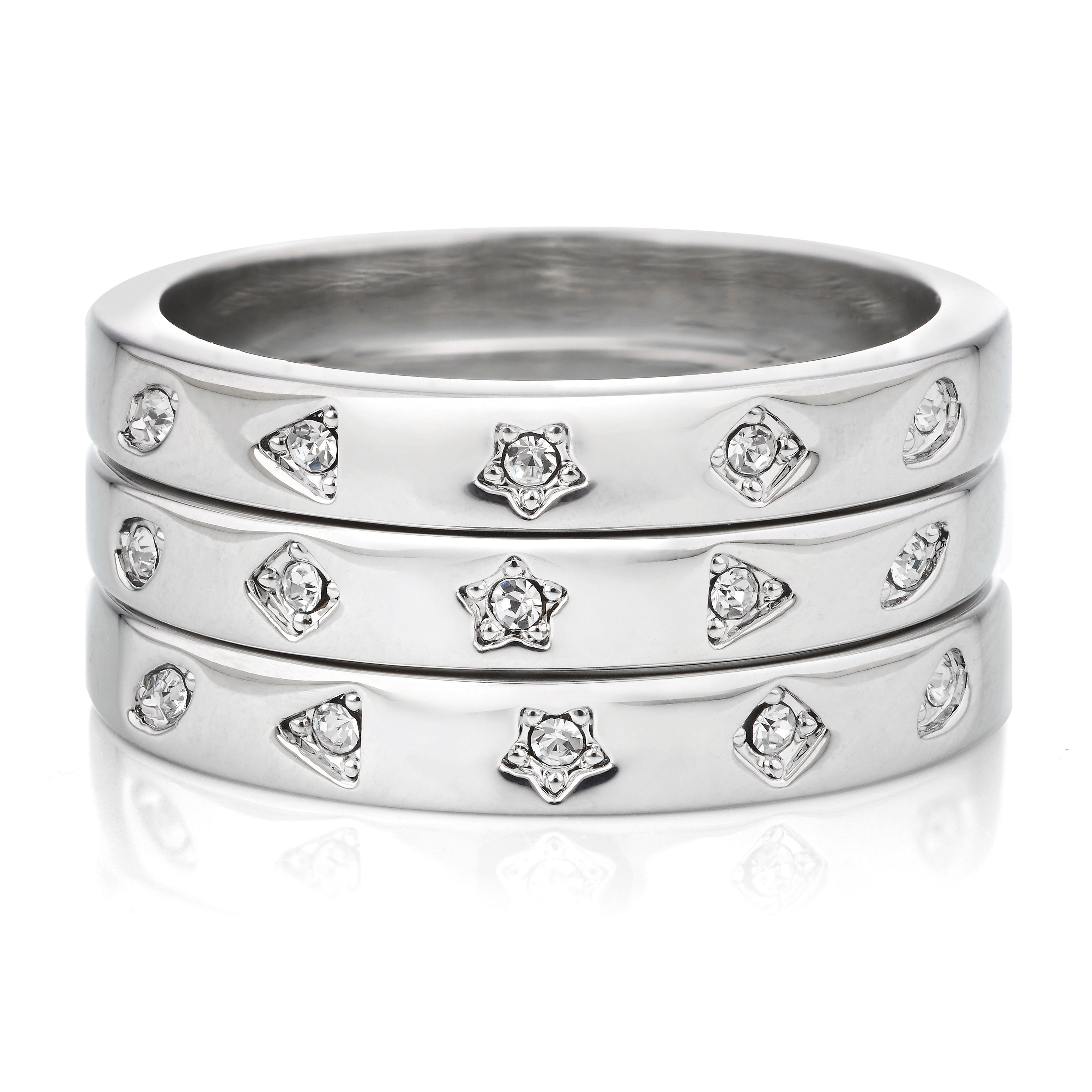 Buckley London Winslet Stacking Rings Trio