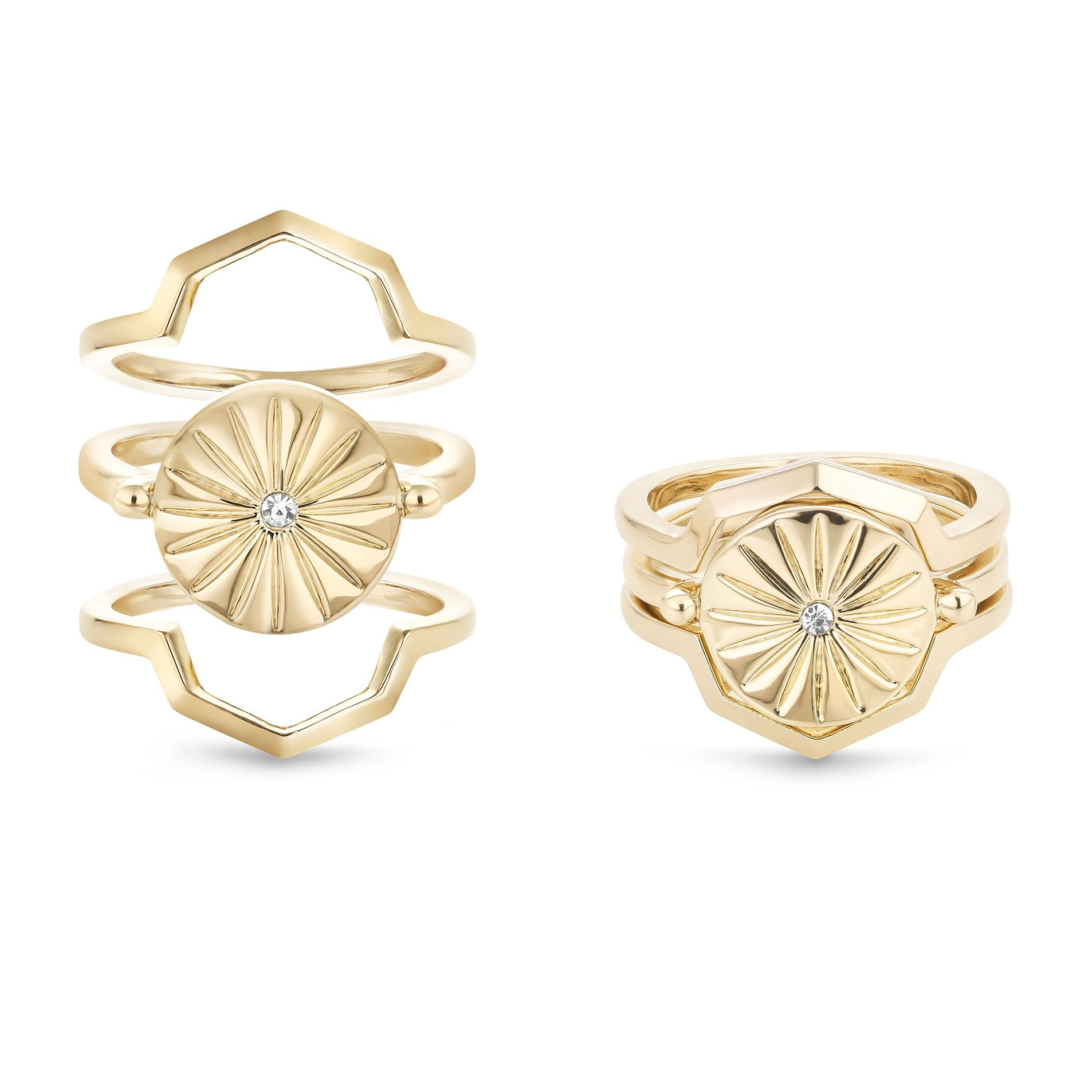 Buckley London Bailey Rae Stacker Rings