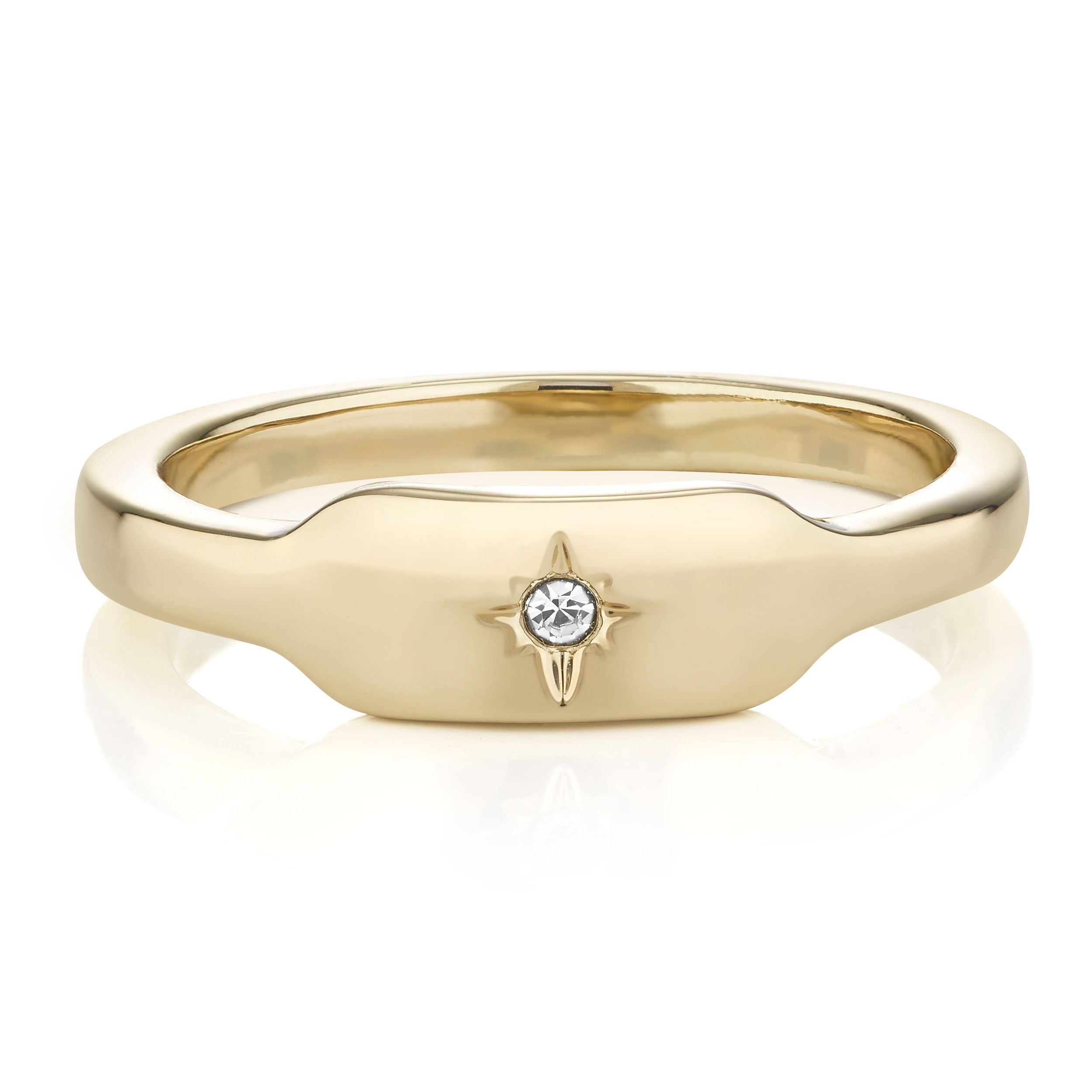 Buckley London Eyre Signet Ring