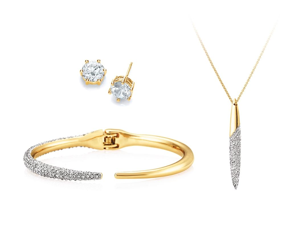 Buckley London Edgware Gold Sparkle Set