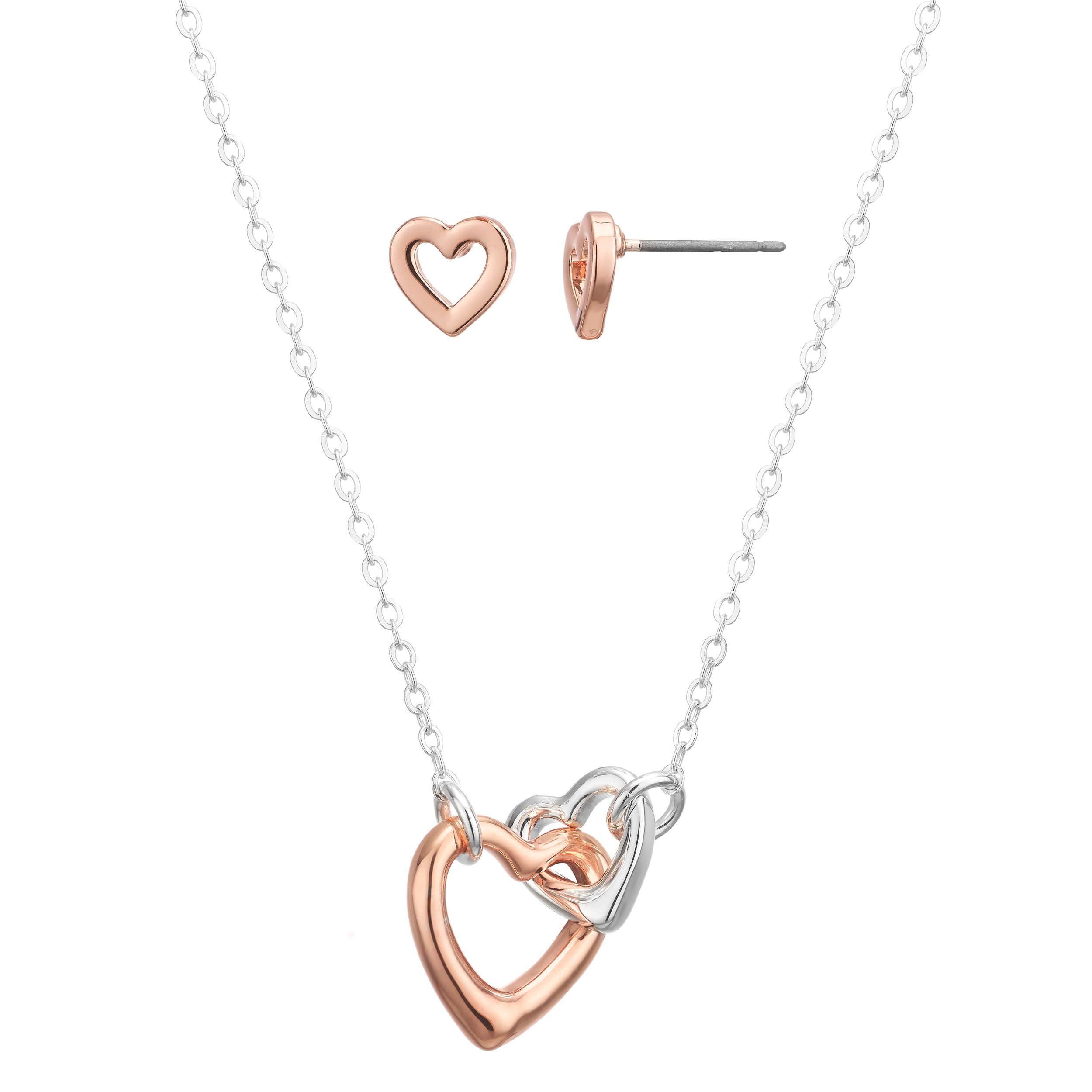 'Will You Be My Bridesmaid' Heart Link Gift Set Buckley London