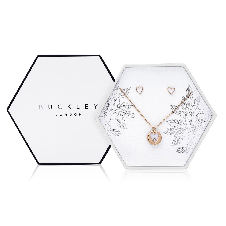 Buckley London Ornate Heart Set