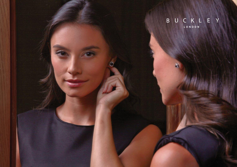 Buckley London Interchangeable Infinity Earrings Set