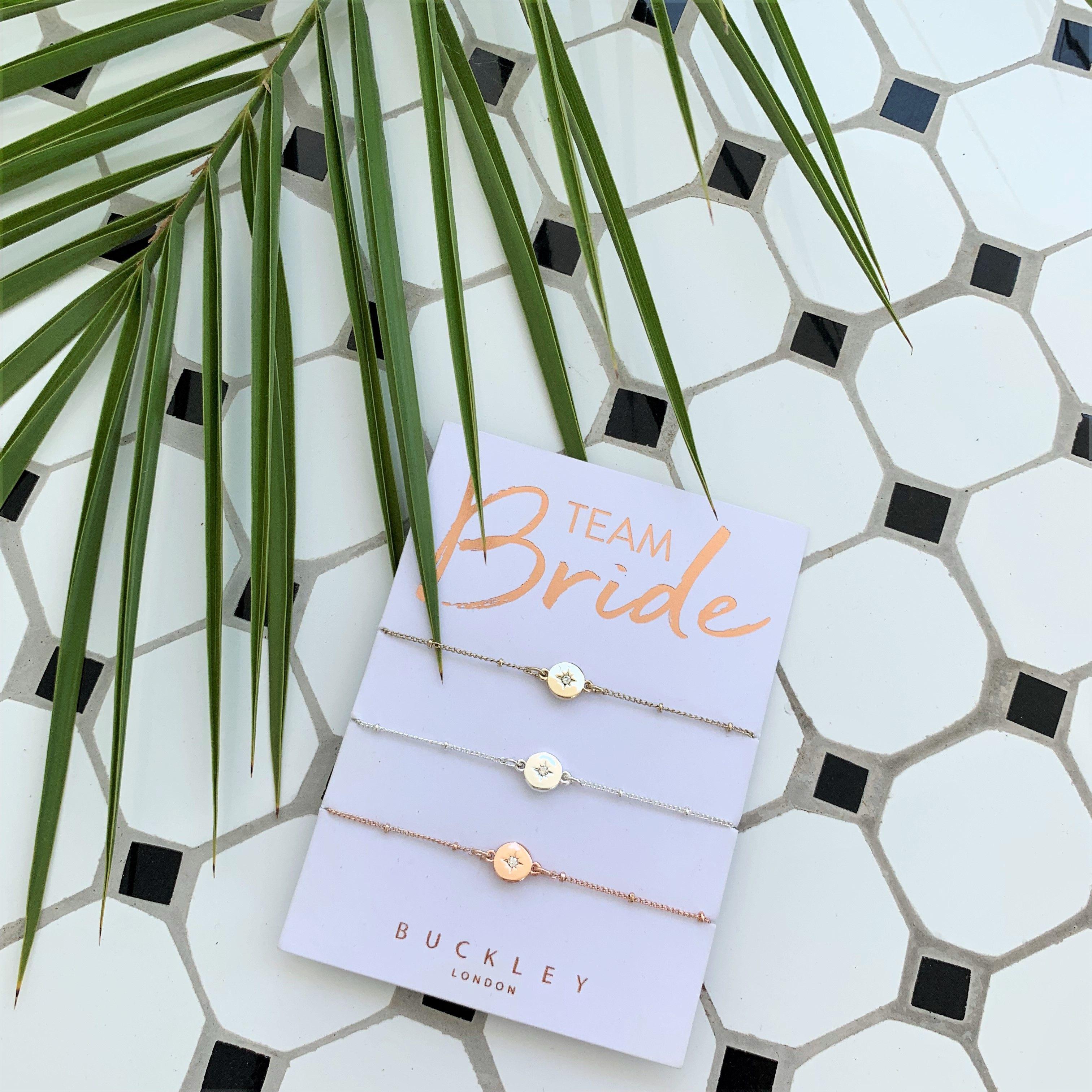 Buckley London Team Bride Bracelet Trio