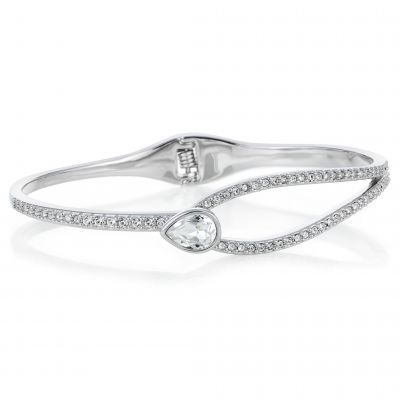 Buckley London Pear-Cut Hatton Bangle