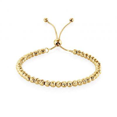Buckley London Soho Beaded Bracelet - Gold